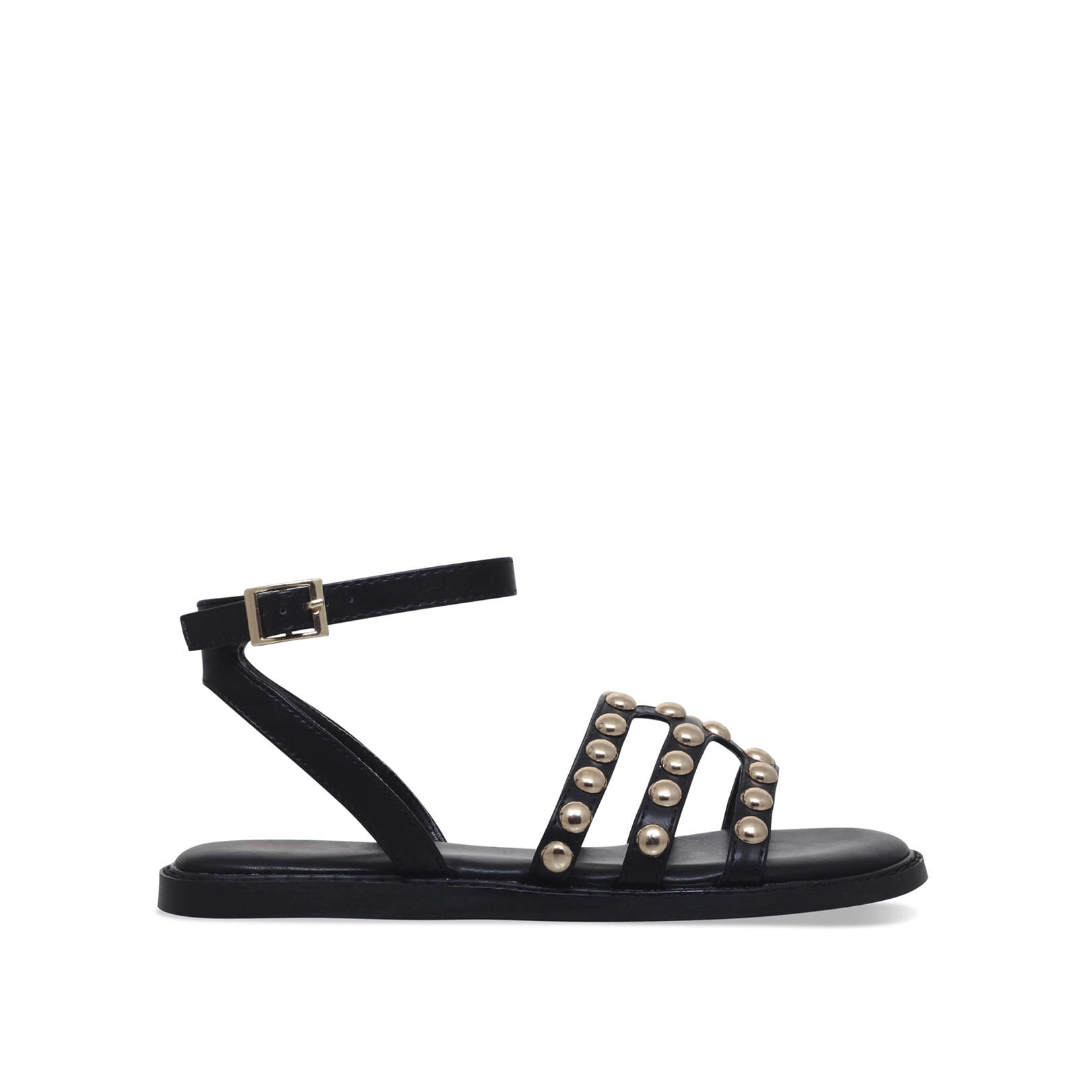 41dbe40a4d9e JEMIMA Dolcis Jemima Black Summer Sandals by DOLCIS