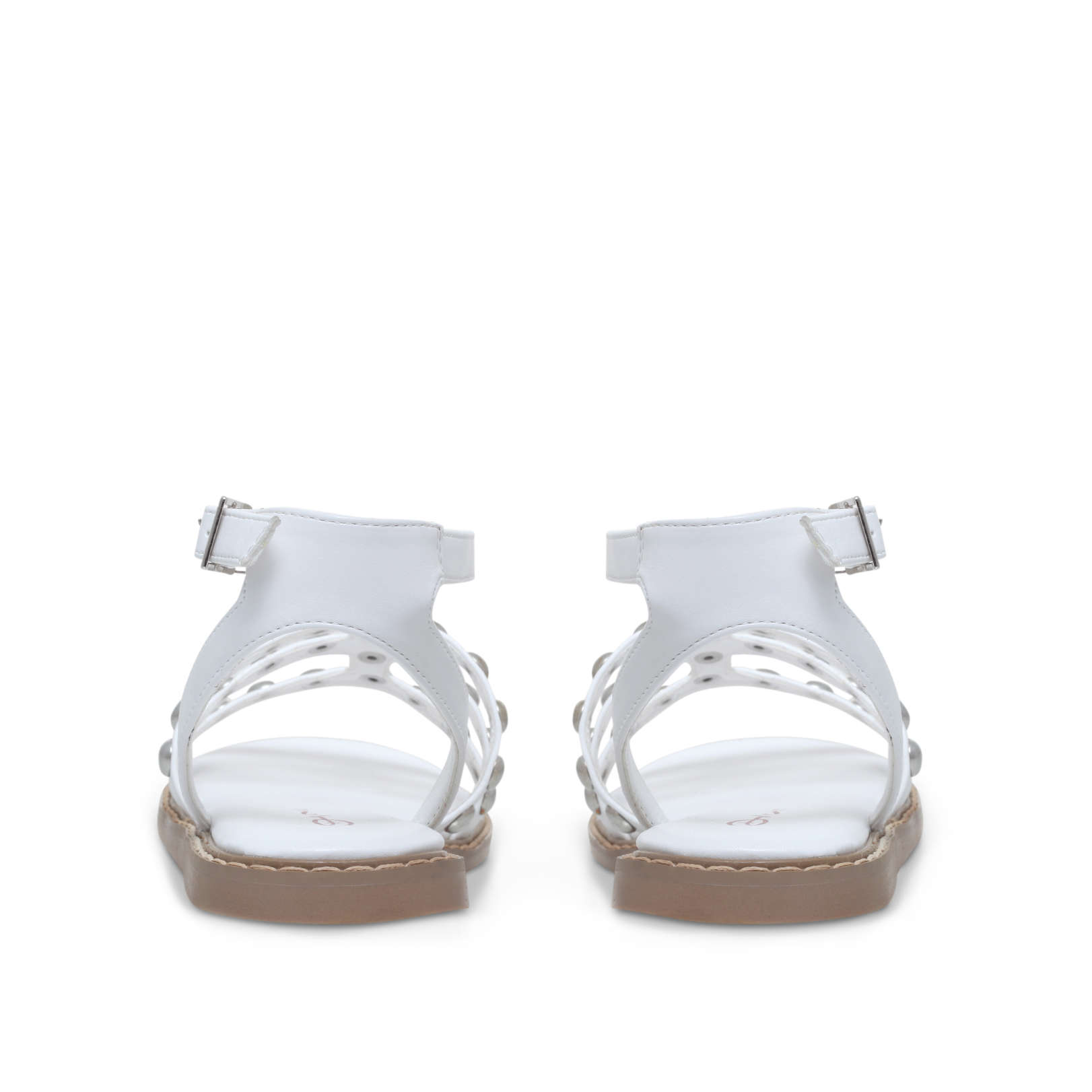4bef5335483b JEMIMA Dolcis Jemima White Summer Sandals by DOLCIS