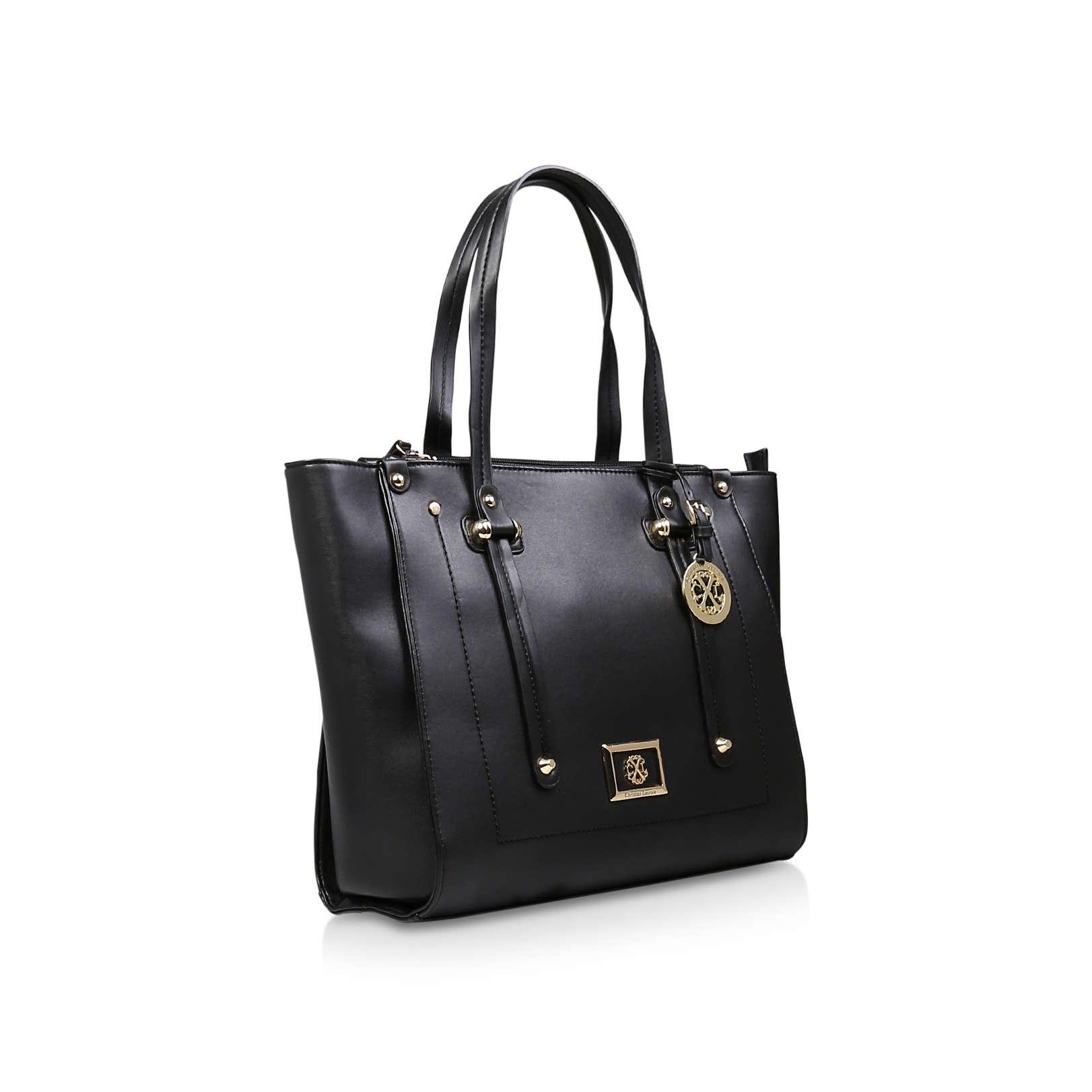 d6684cd92 MONTPELLIER Cxl By Christian Lacroix Montpellier Black Handbags by CXL BY CHRISTIAN  LACROIX
