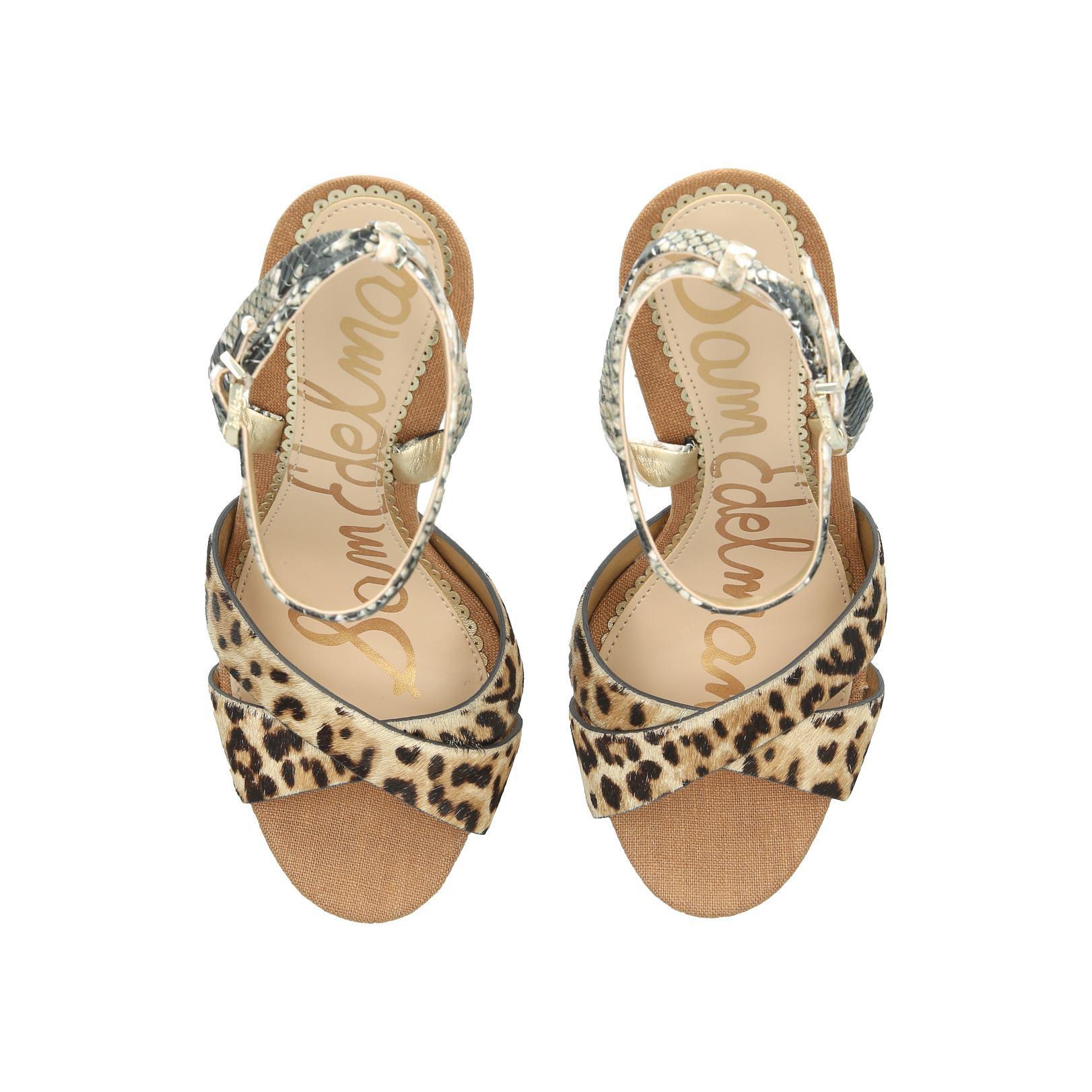 4ef6904dd232 ALY Aly Occasion Sam Edelman Tan Comb Leopard Print Heels by SAM EDELMAN