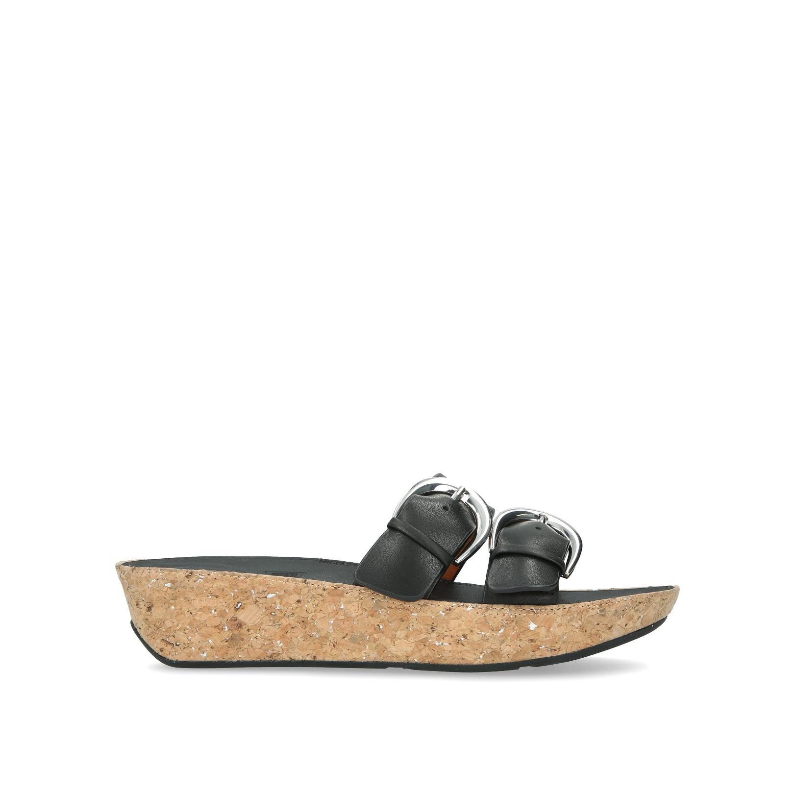 5f62cfc015b4 DUO-BUCKLE SLIDE SANDALS by FITFLOP