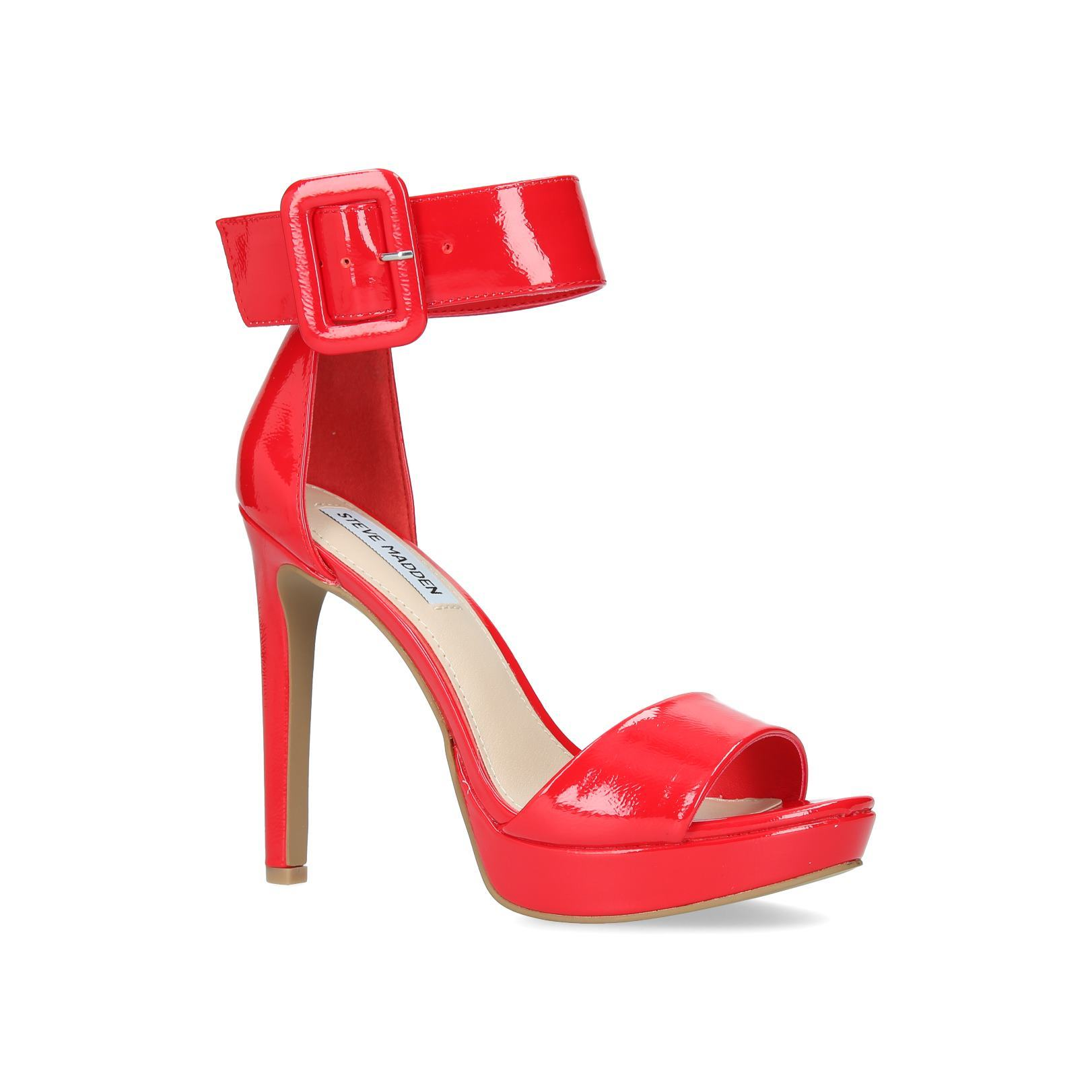 63c2691eef8 CIRCUIT Circuit Steve Madden Occasion High Heel +60Mm Red by STEVE MADDEN