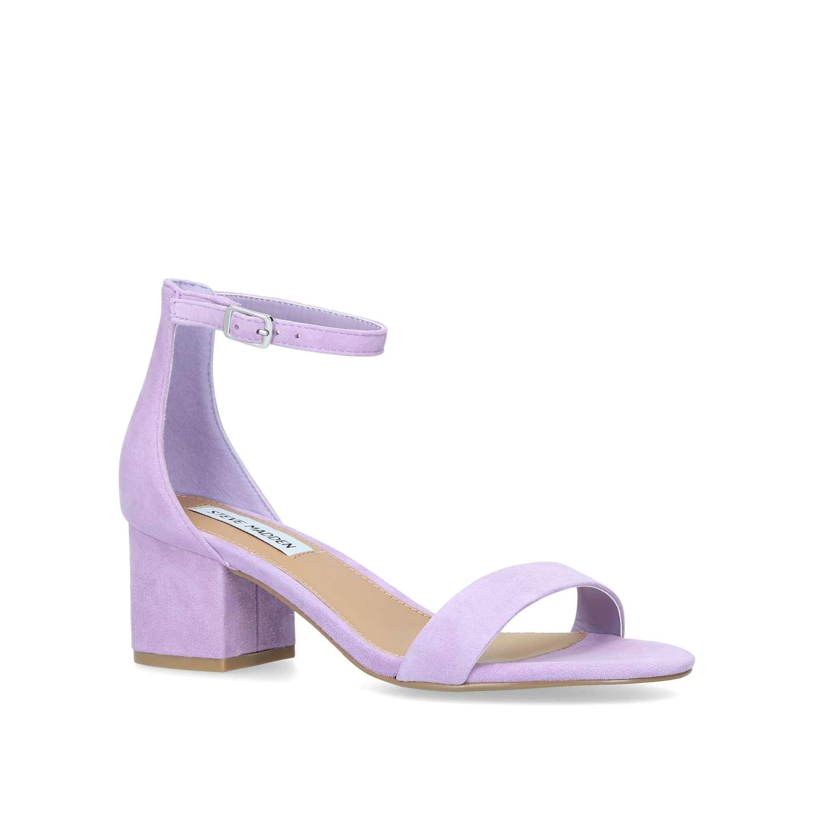 6b88ff60c0b IRENEE Irenee Steve Madden Summer Medium Heel 21-55Mm Lilac by STEVE MADDEN