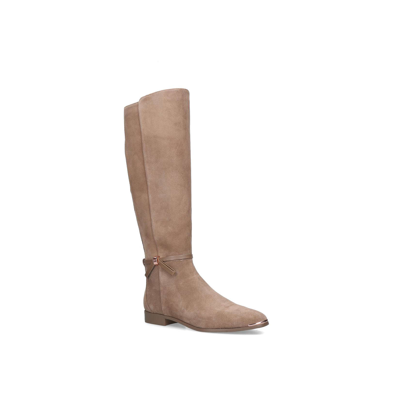 bf286216a6d86 LYKLA Lykla Ted Baker Ankle Boots Low Heel 0-21Mm Taupe by TED BAKER