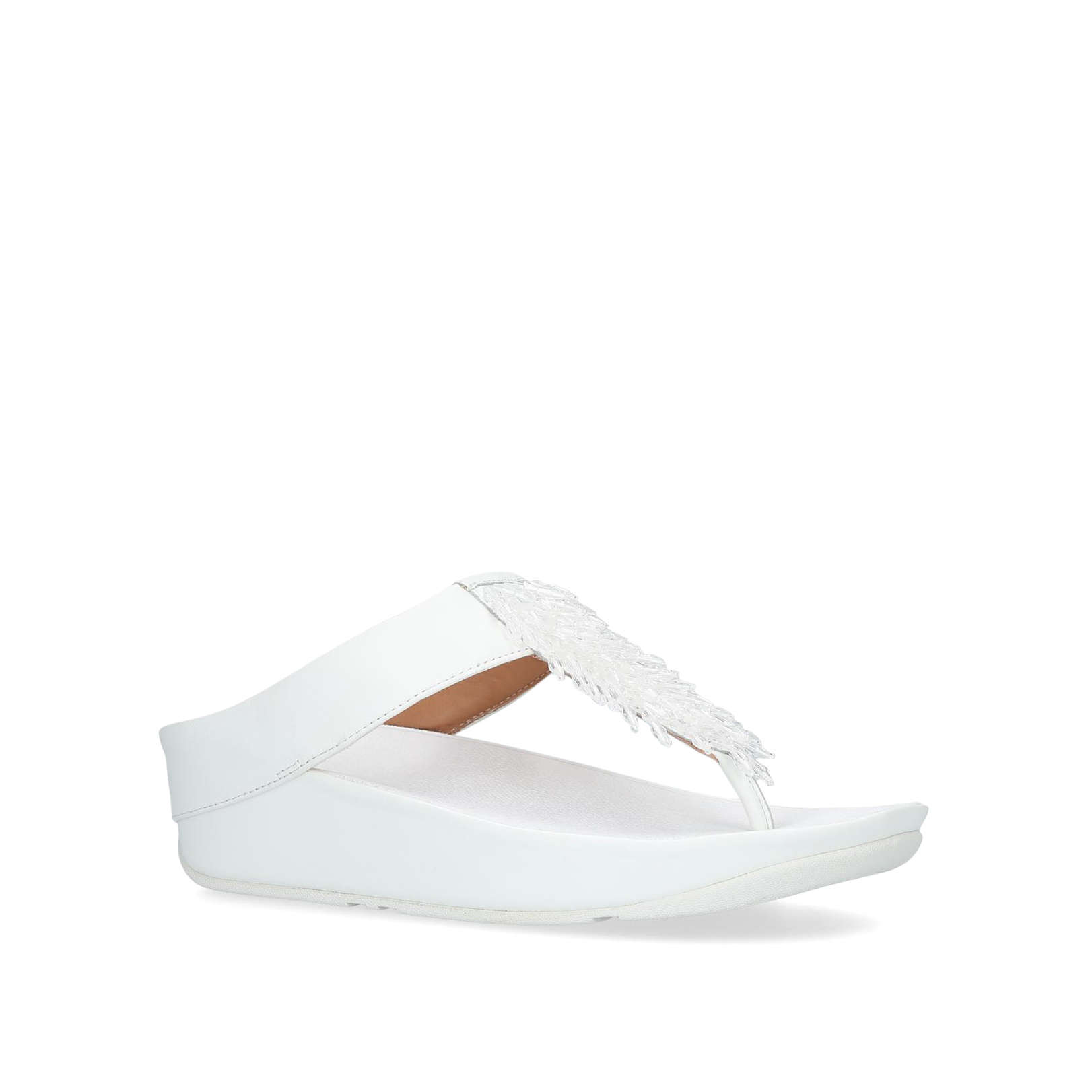 f02f1b439c18 RUMBA TOE Rumba Toe Summer Fitflop White by FITFLOP