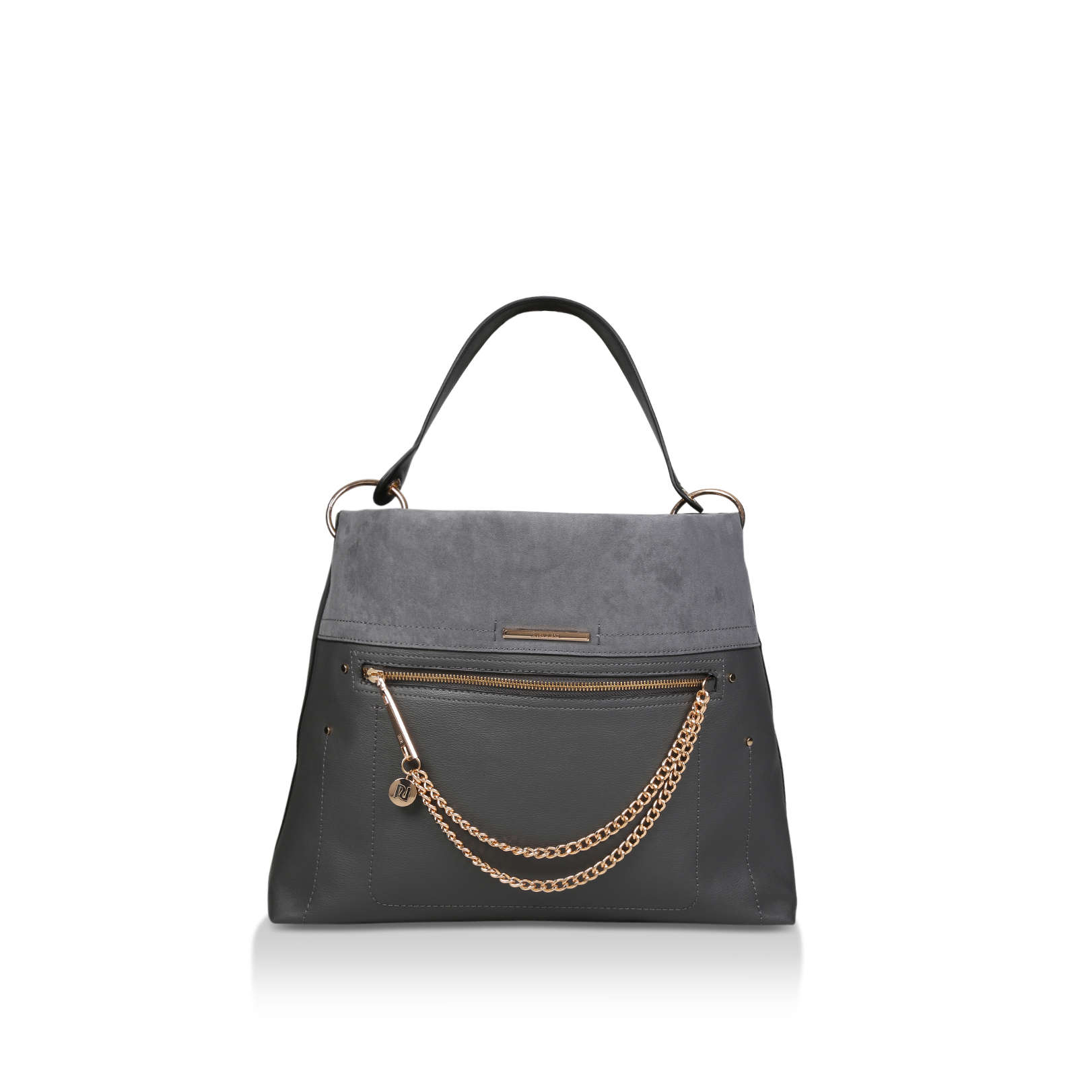 new products crazy price new specials Zip Fnt Chain Slouc - RIVER ISLAND HANDBAGS