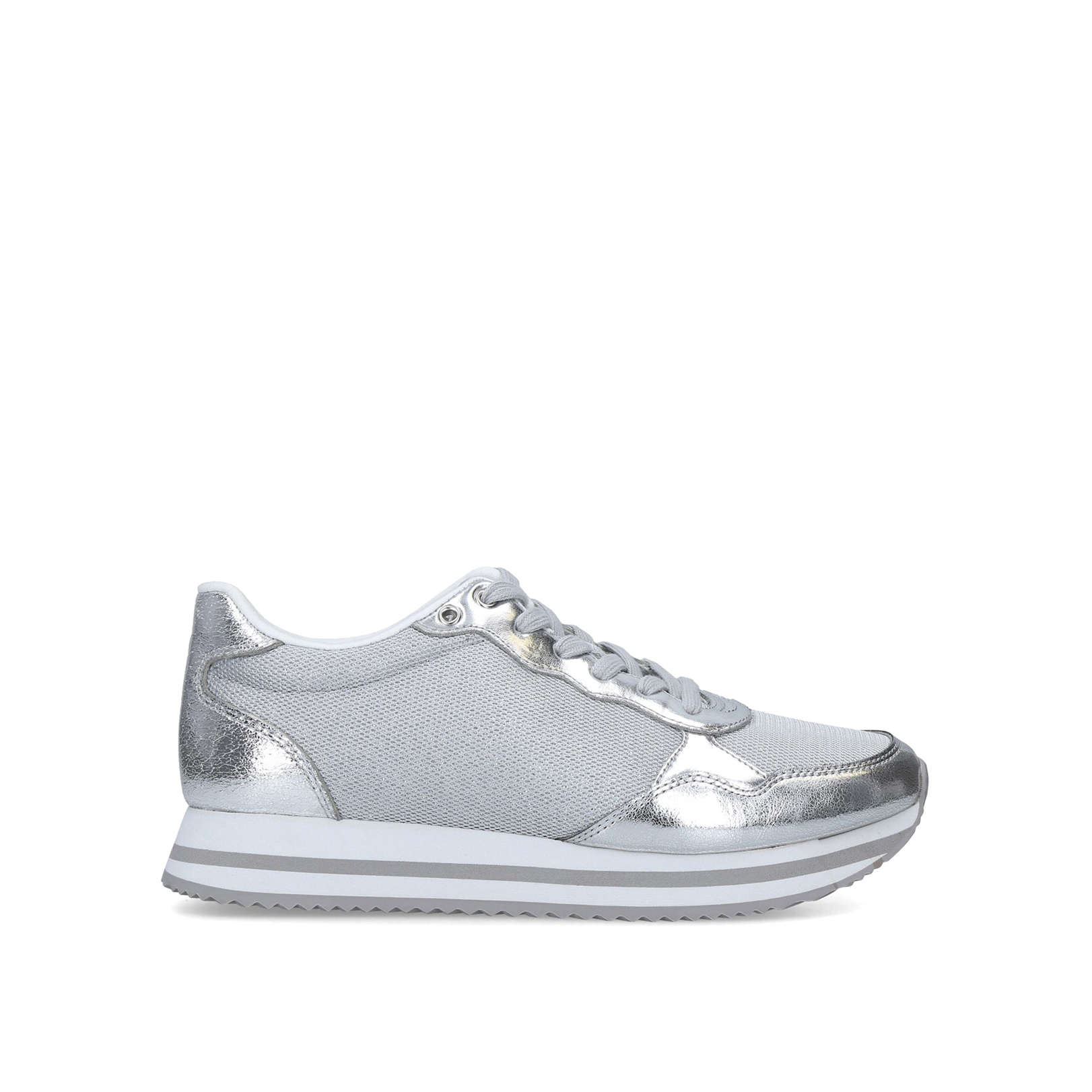 aldo silver sneakers