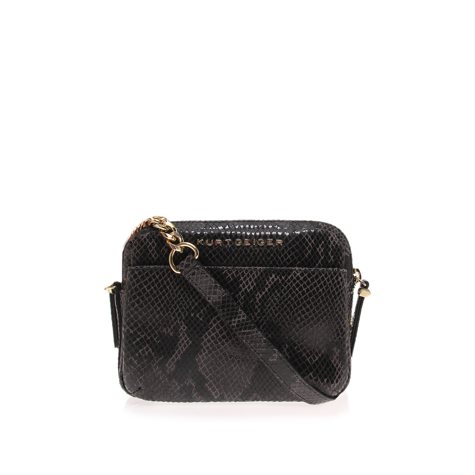 DOUBLE ZIP SML CROSSBODY
