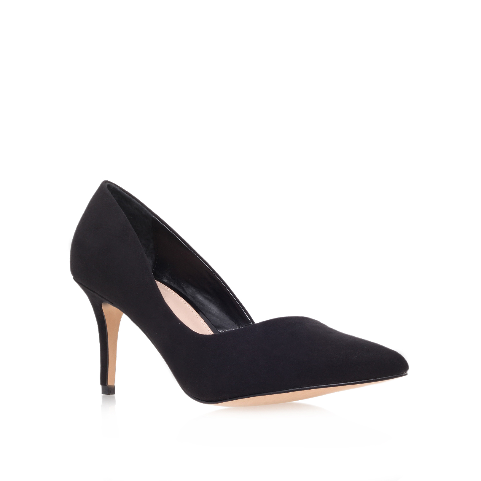 d18679045 ABYSS Carvela Abyss Black Mid Heel Court Shoes by CARVELA KURT GEIGER