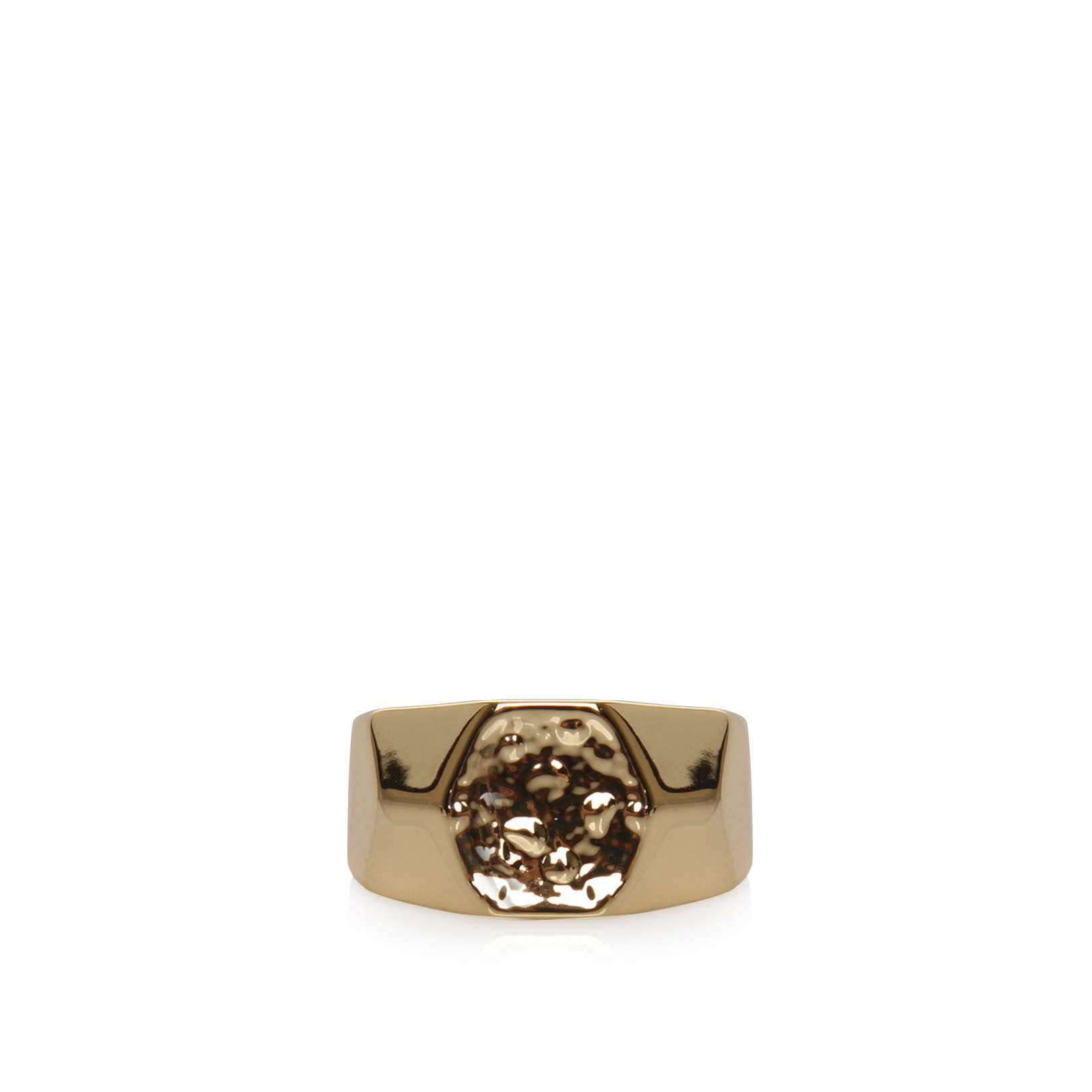 HEXAGON ID RING