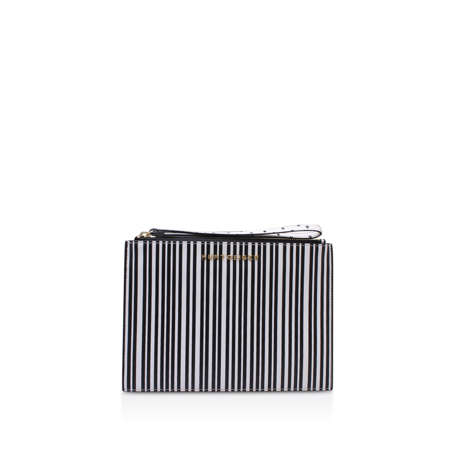SAFFIANO POUCH WITH STRAP