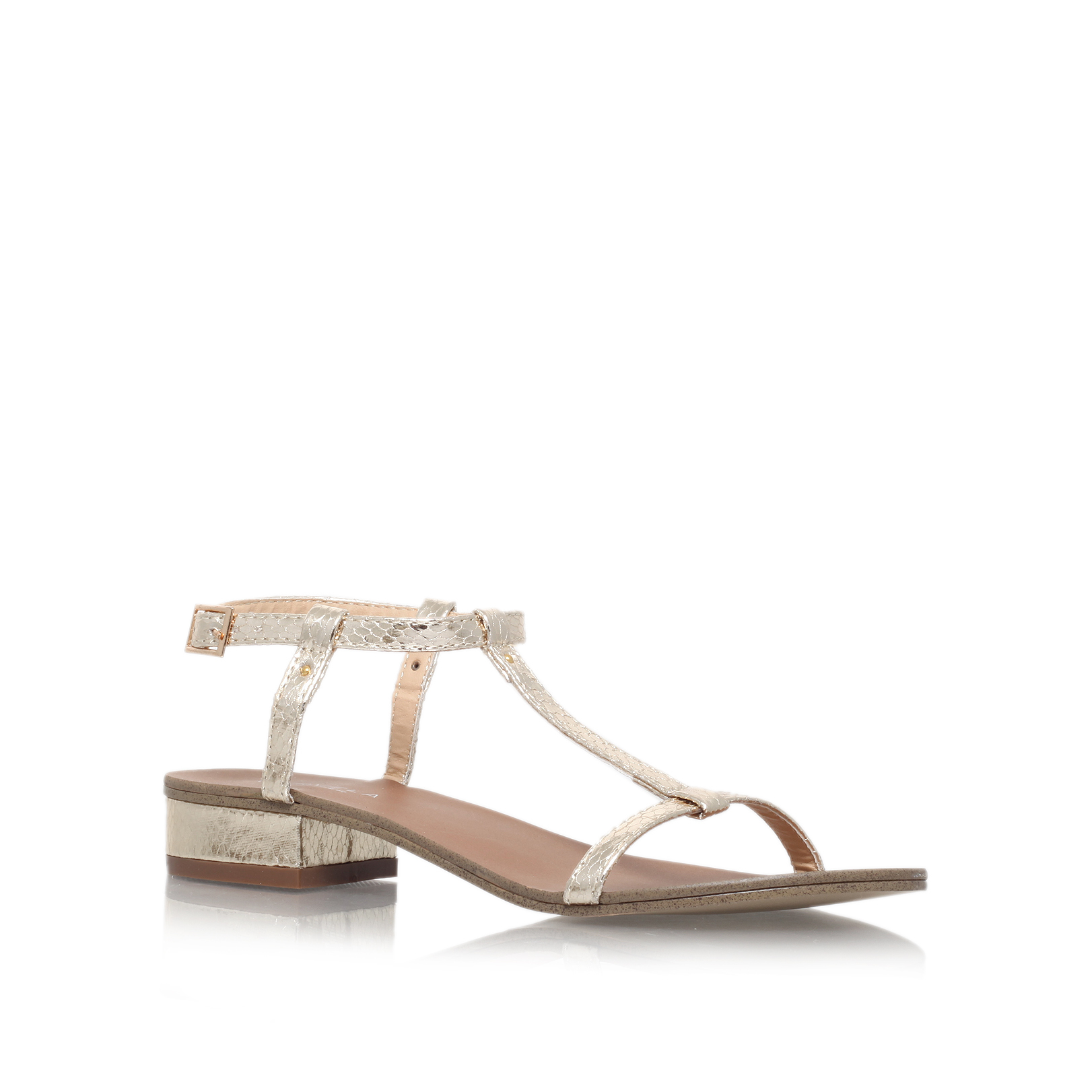 56c659d6657 BOUNTY Carvela Bounty Gold Sandals by CARVELA