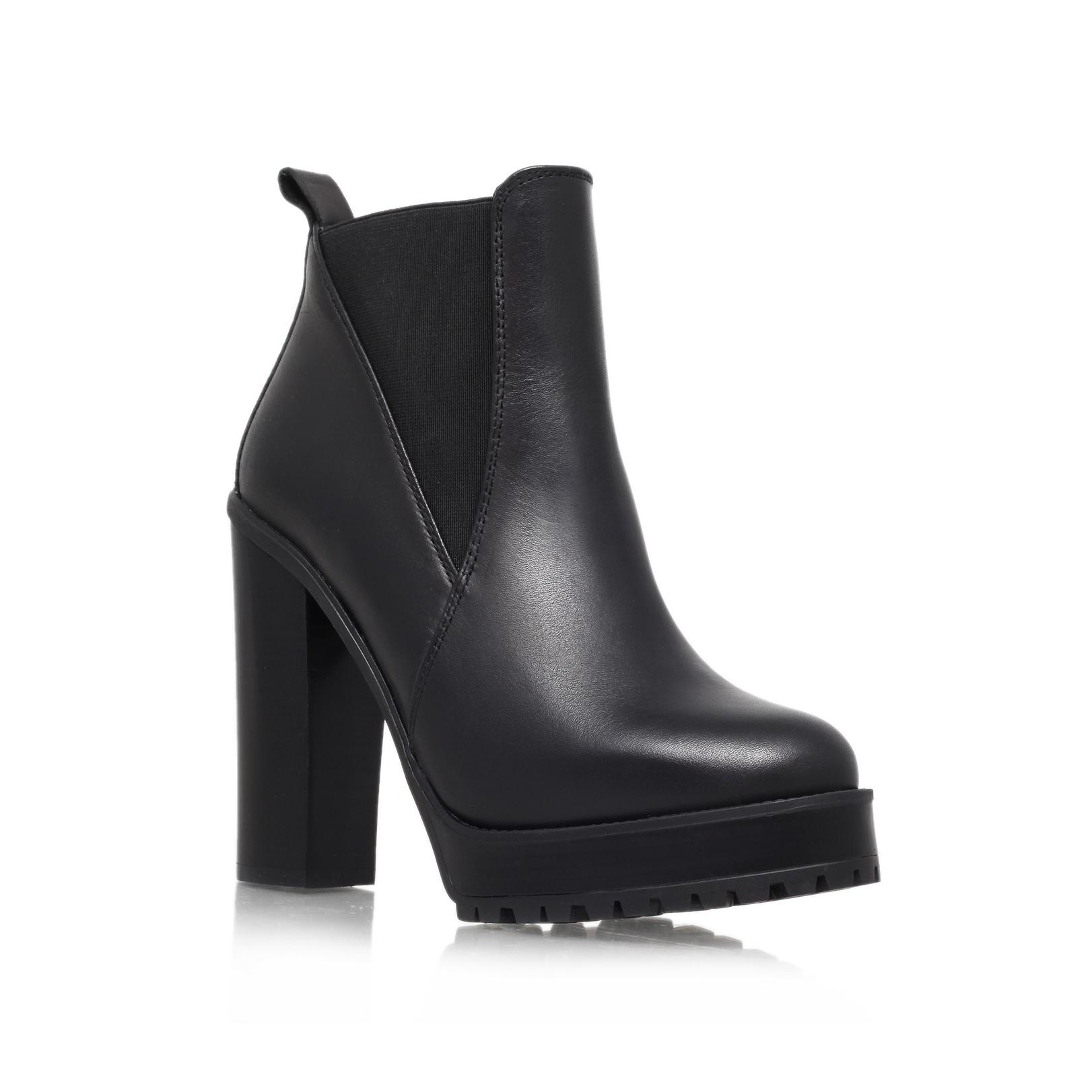 skye kg kurt geiger skye black leather high heel ankle boots by kg kurt geiger. Black Bedroom Furniture Sets. Home Design Ideas