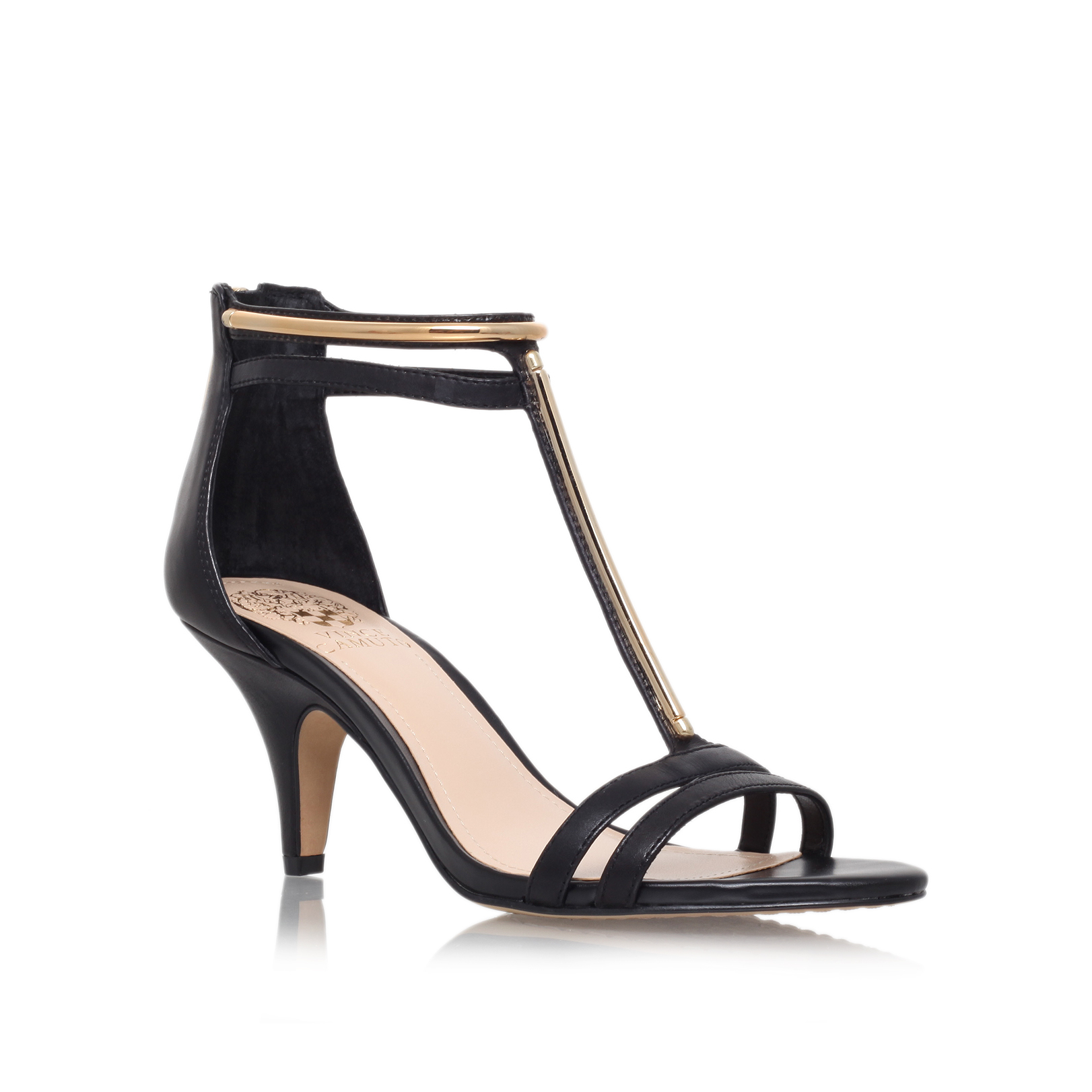 mitzy, black  by vince camuto -
