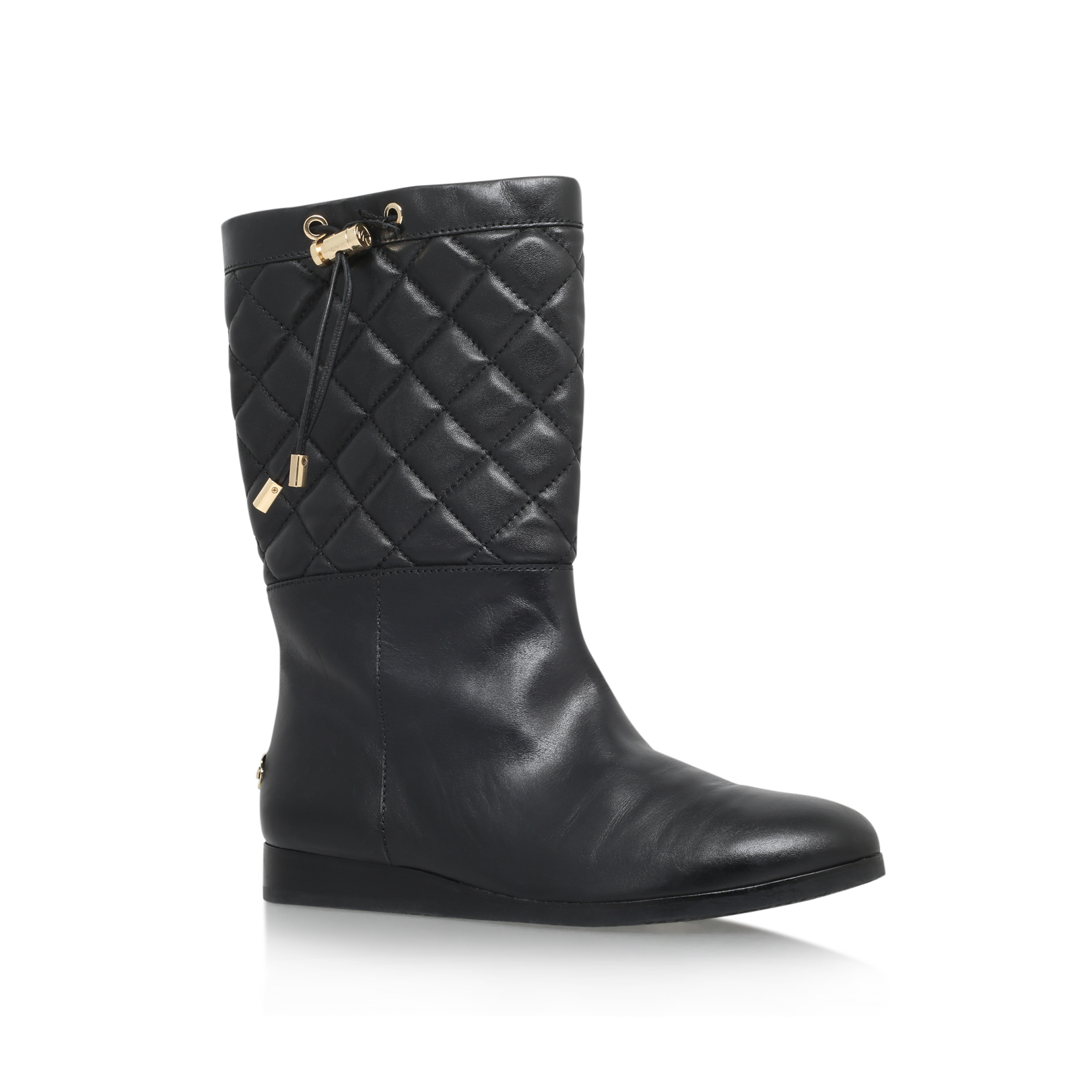 LIZZIE QUILTED MID BOOT