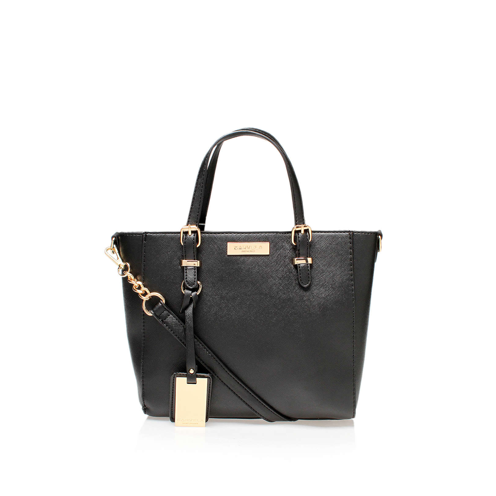 4d6107e0396a DANNA MINI WINGED TOTE Carvela Danna Mini Winged Tote Bag Black by ...