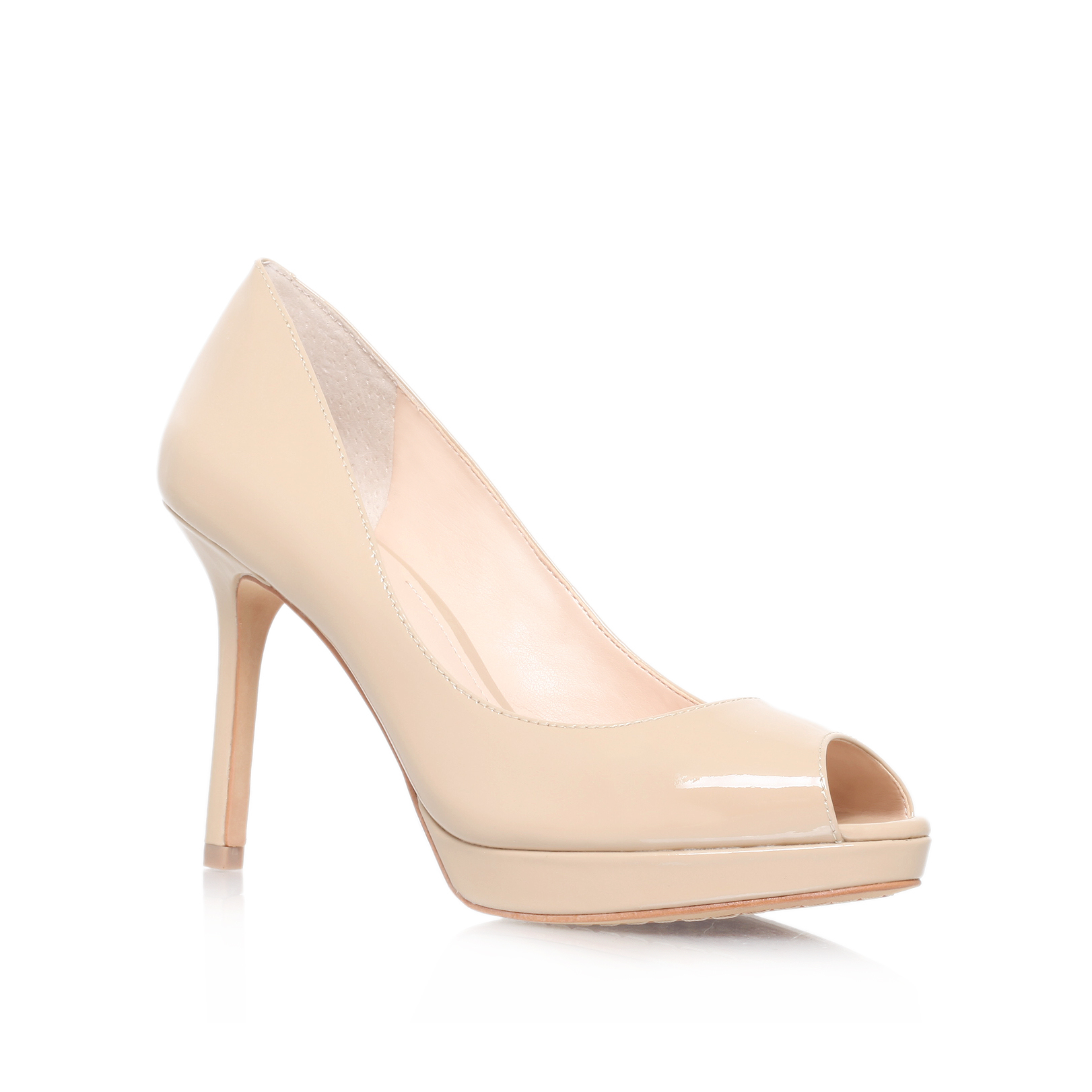 a0f96974de Vince Camuto | COPER Nude Peep Toe High Heel Shoes by VINCE CAMUTO