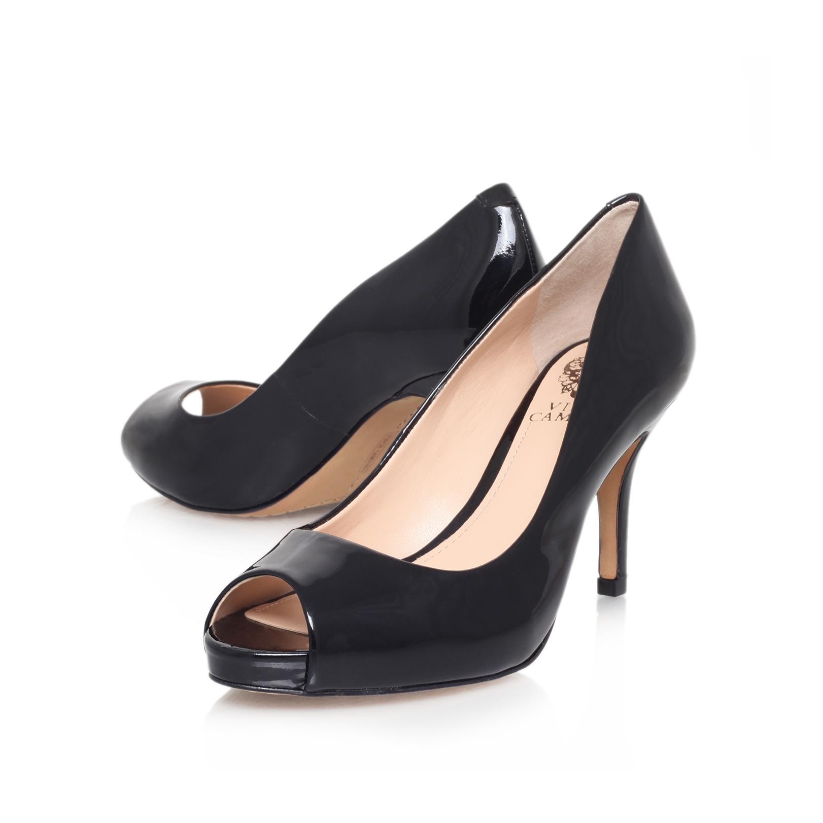 Black Mid Heel Court Shoes Uk