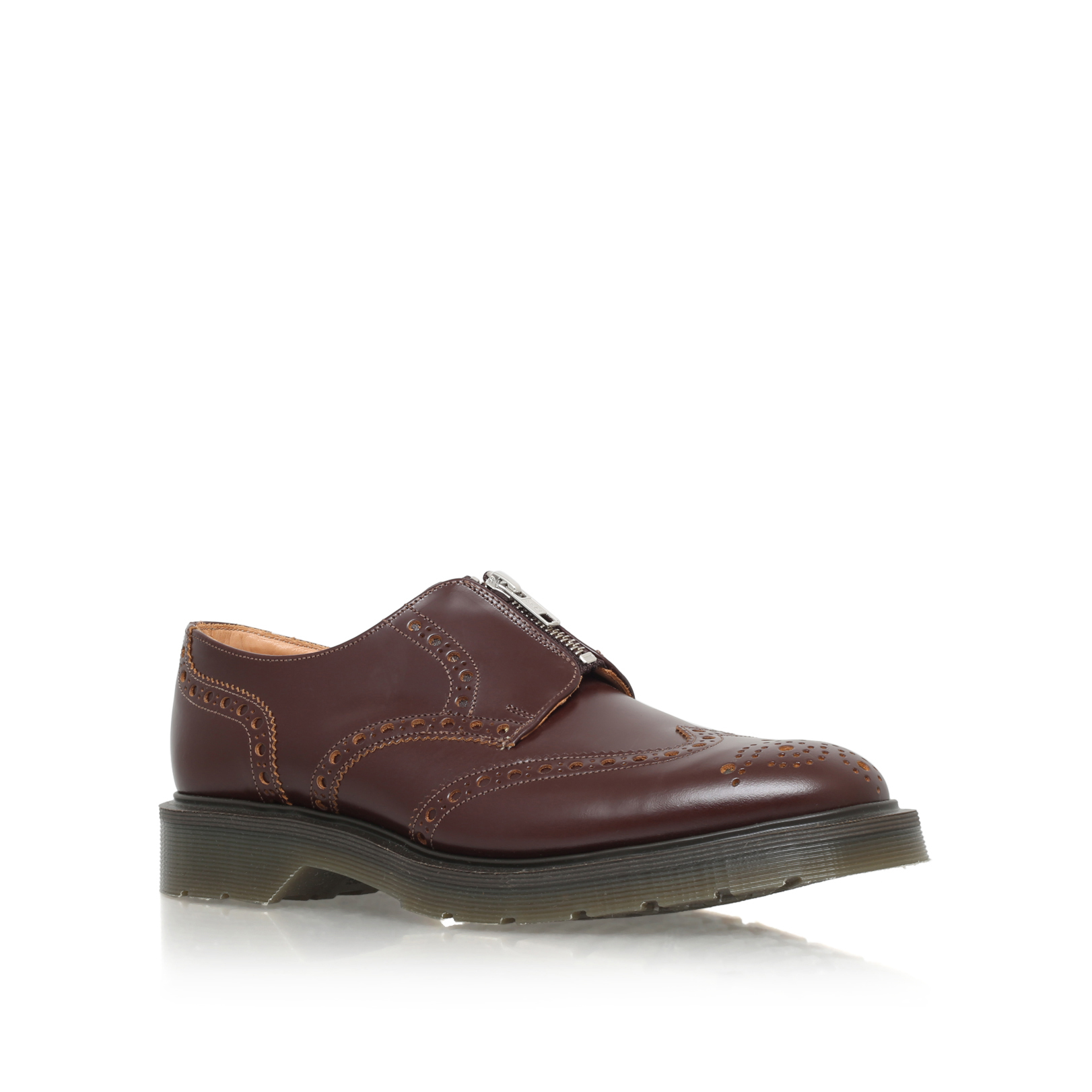 ZIP BROGUE SHOE