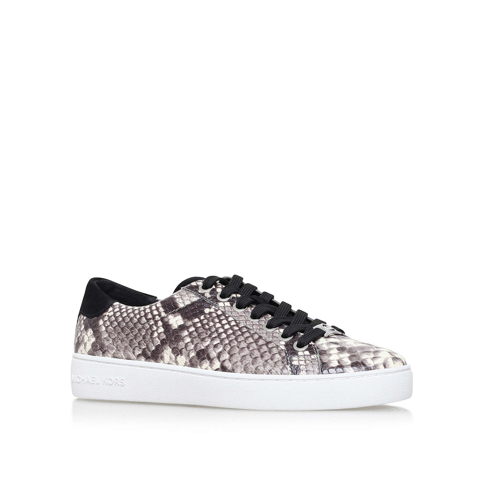 f07e726d1 IRVING LACE UP Michael Michael Kors Irving Lace Up Grey Snake Print ...