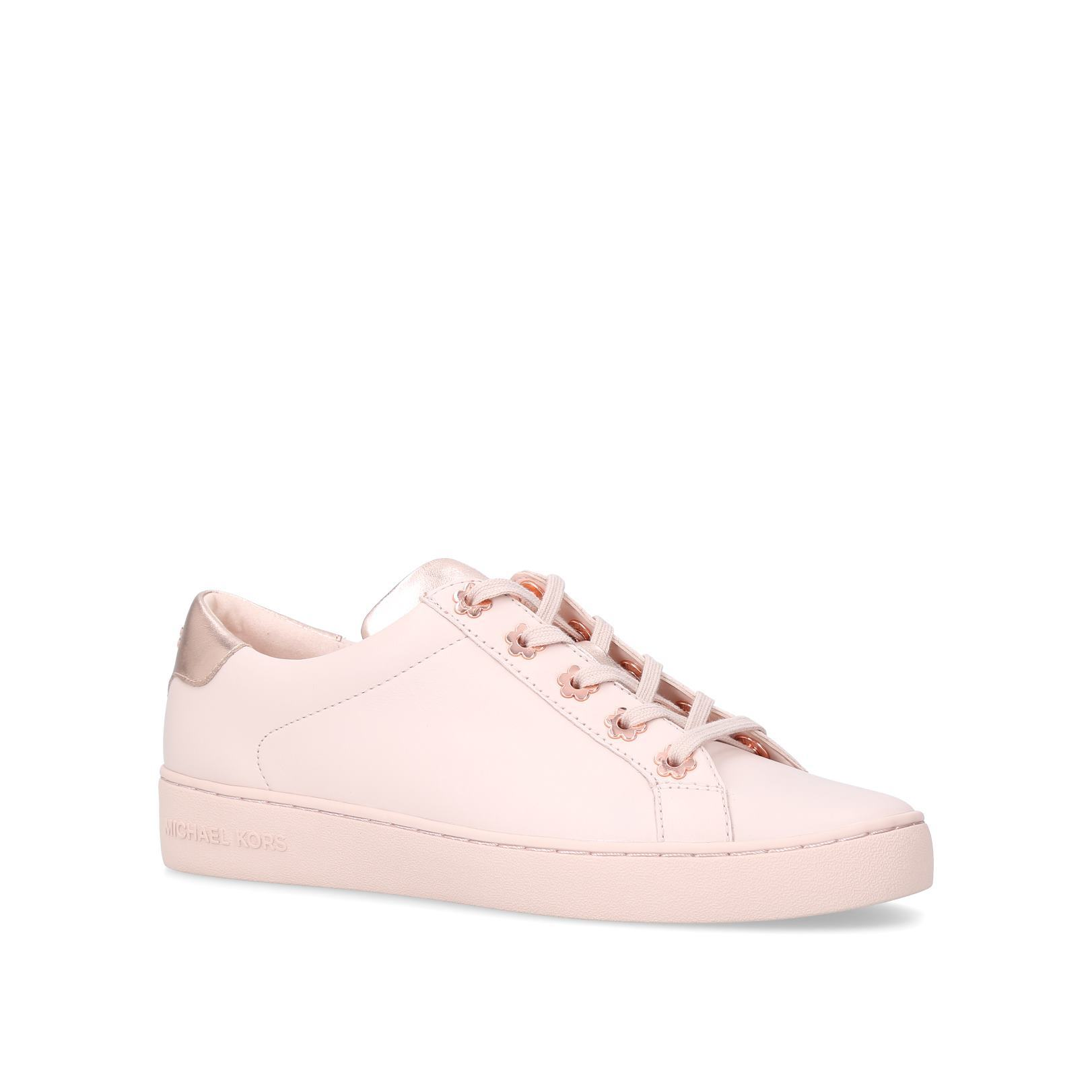 f7f5ed767907 IRVING LACE UP Irving Lace Up Sneakers Michael Michael Kors Pale Pink by MICHAEL  MICHAEL KORS