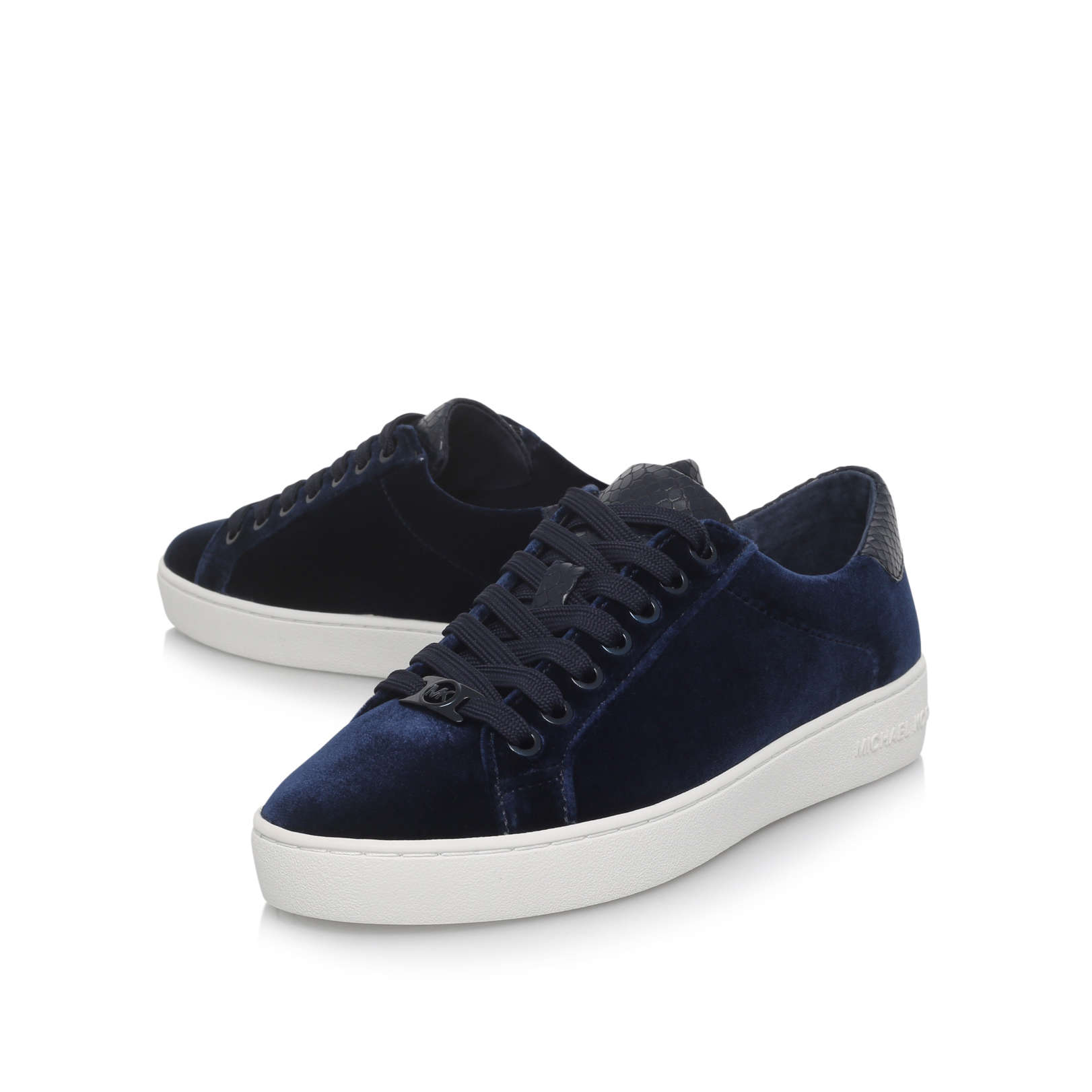 IRVING LACE UP Michael Michael Kors Irving Lace Up Navy ...
