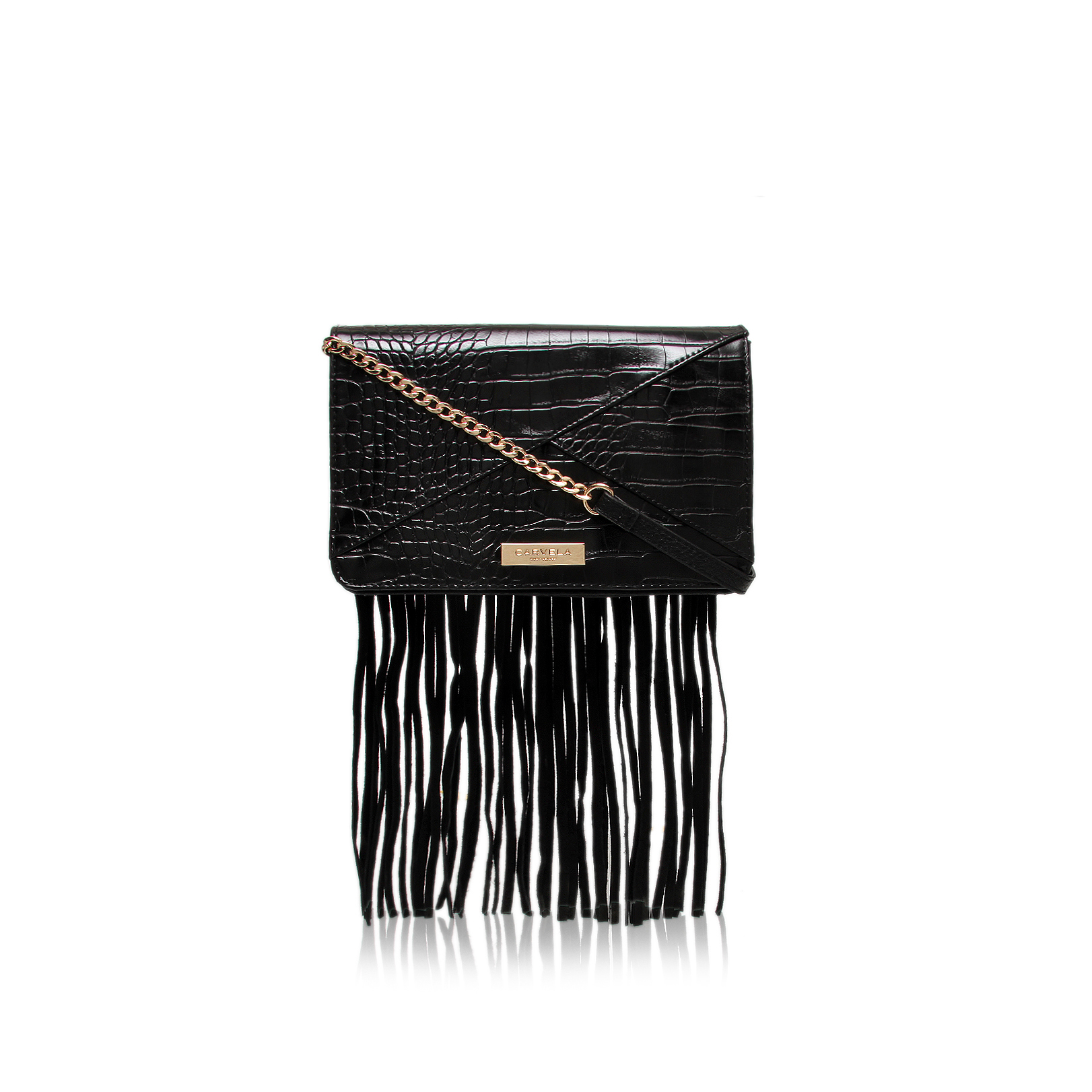 FRES FRINGED CLUTCH