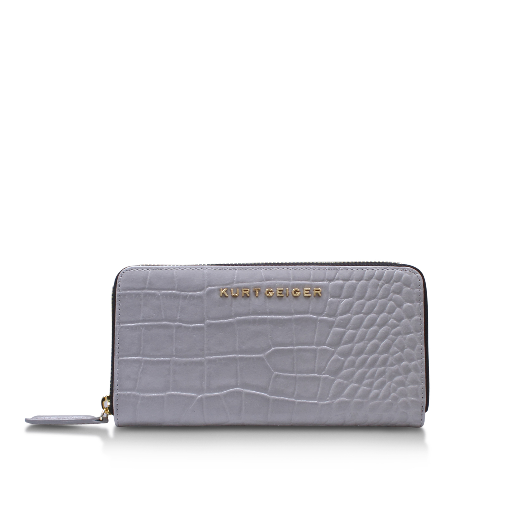 CROC ZIP AROUND WALLET