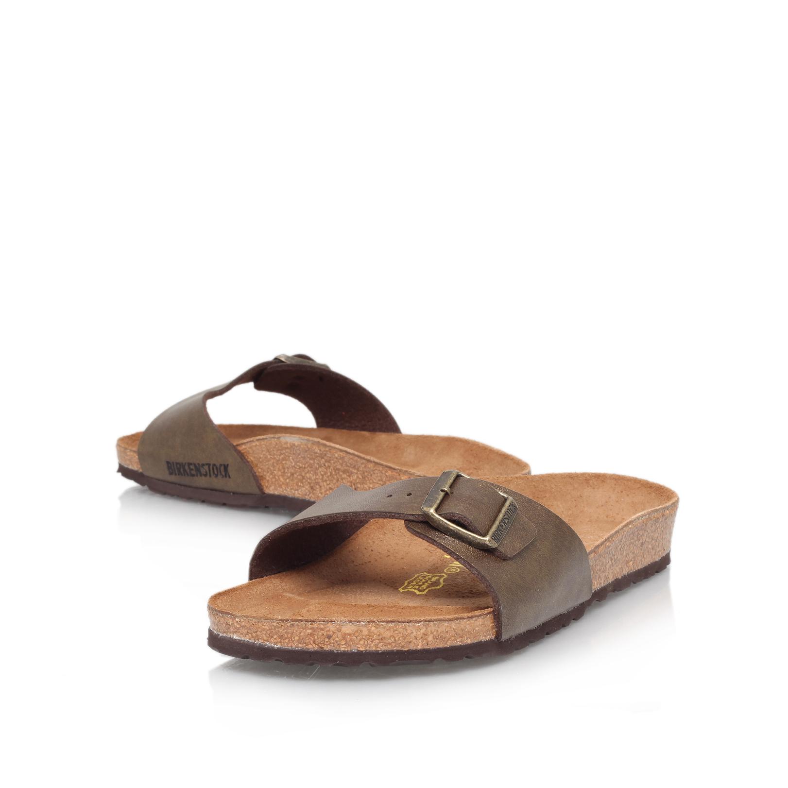 767d1cd018e Birkenstock Kairo Leather White Sandals Toe Strap Birkenstocks ...