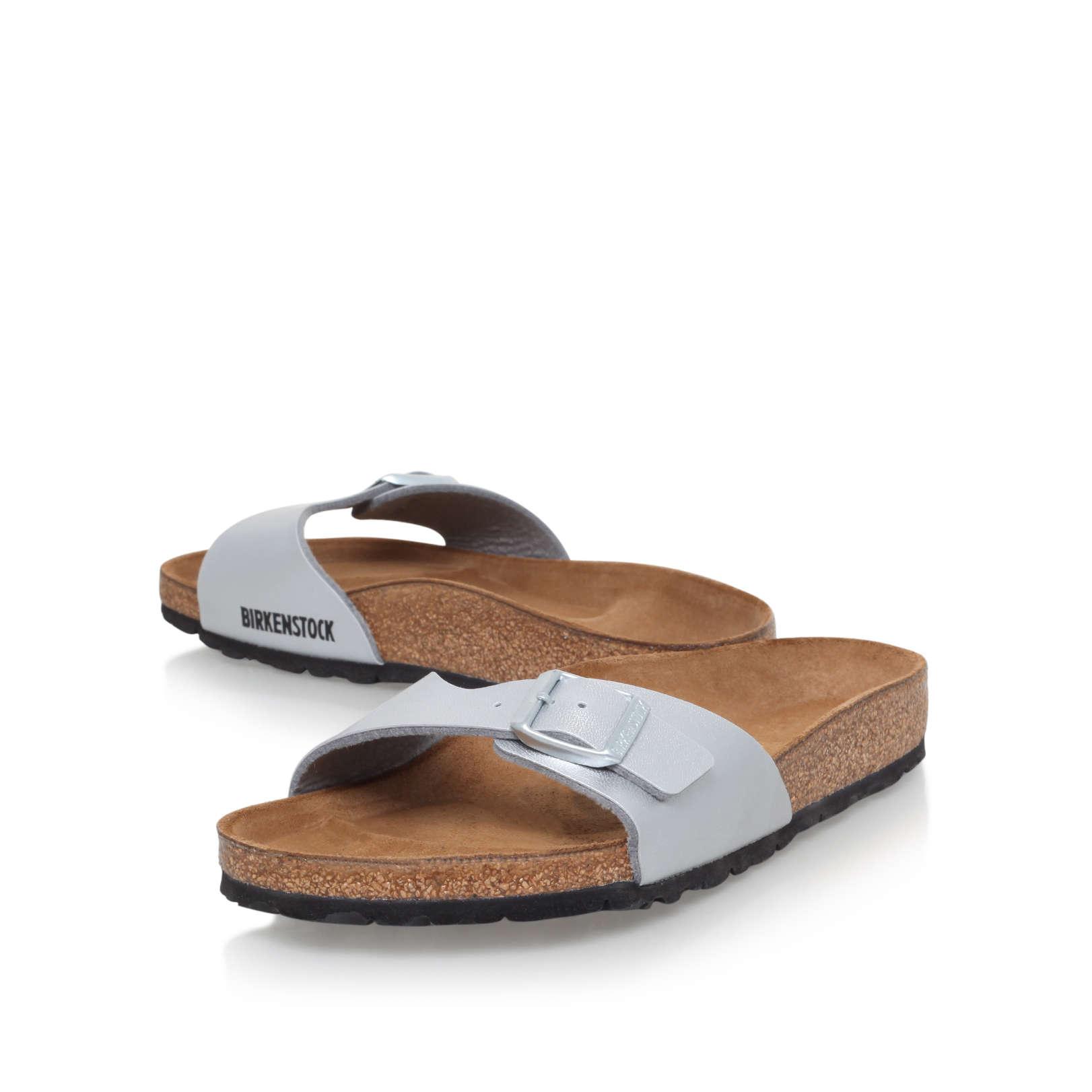 madrid birkenstock madrid silver flat sandals by birkenstock. Black Bedroom Furniture Sets. Home Design Ideas