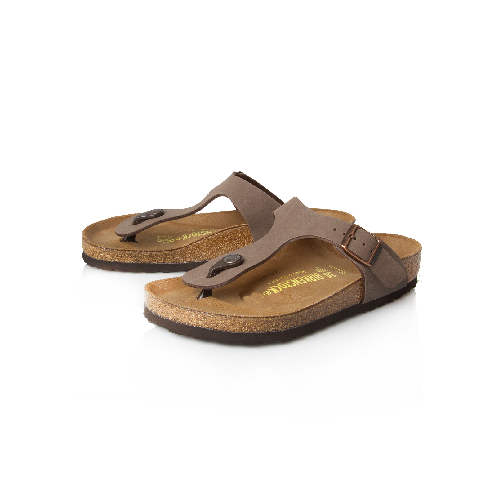 gizeh birkenstock gizeh brown flat sandals by birkenstock. Black Bedroom Furniture Sets. Home Design Ideas
