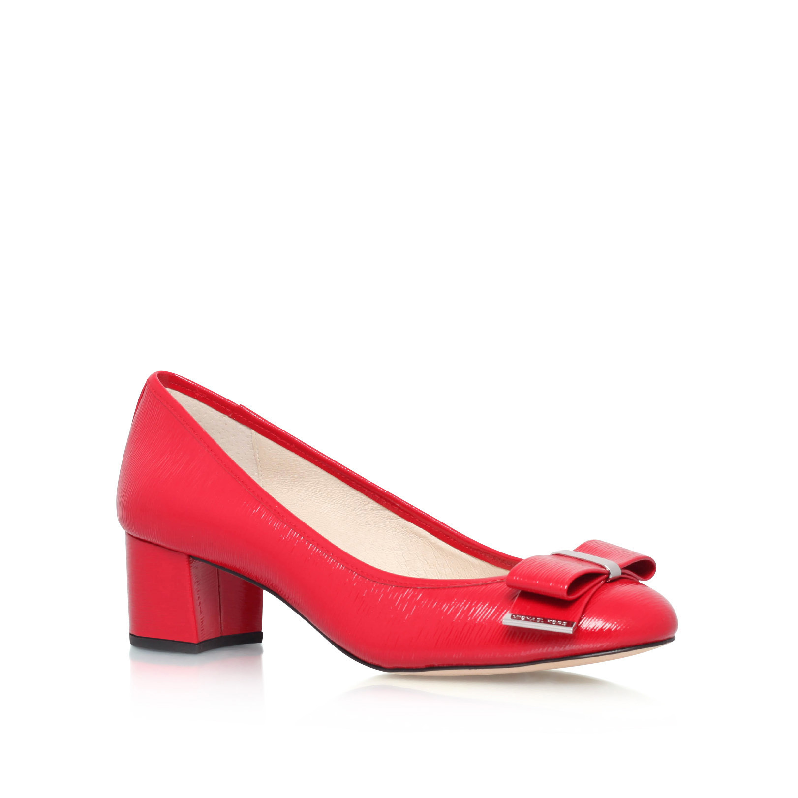 c73d491042ca KIERA MID PUMP Michael Michael Kors Kiera Mid Pump Red Patent Court Shoes  by MICHAEL MICHAEL KORS
