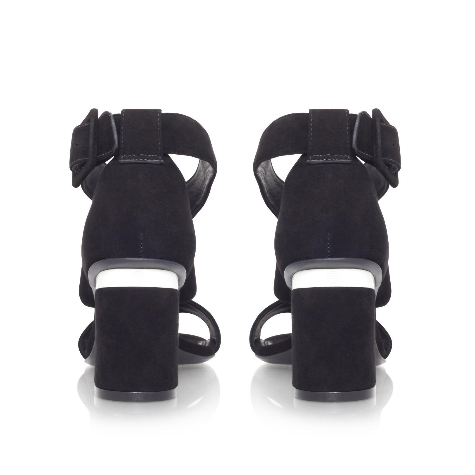 Black sandals jones - Jones 70mm Sandal Tory Burch Jones 70mm Black Suede Heeled Sandals By Tory Burch