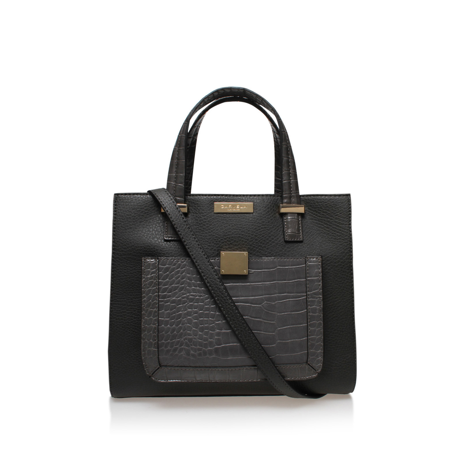 HELIA CROC LOCK PCKT BAG