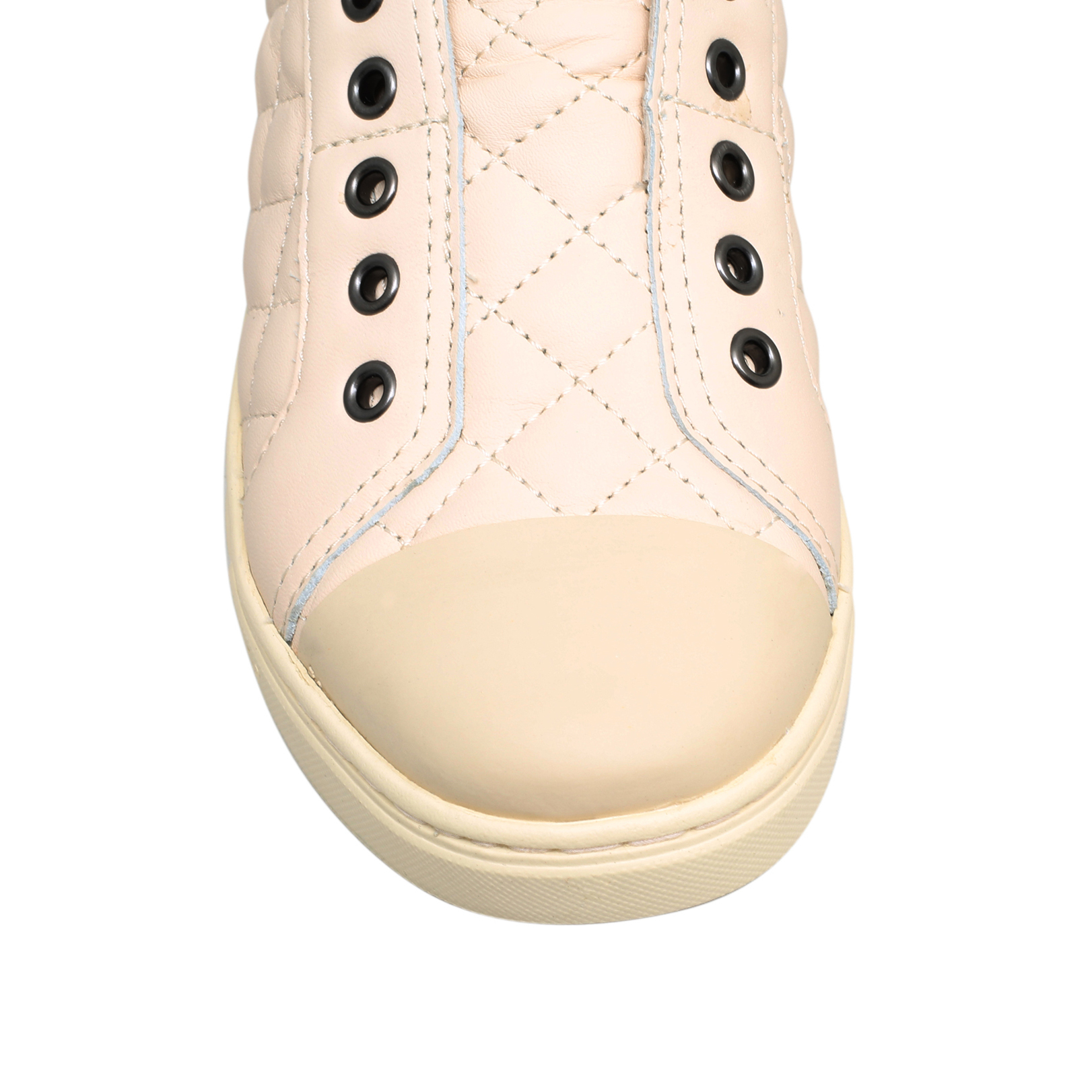 5aef1eed3b JEMMA QUILTED Ugg Jemma Quilted White Leather Flat Sneakers by UGG