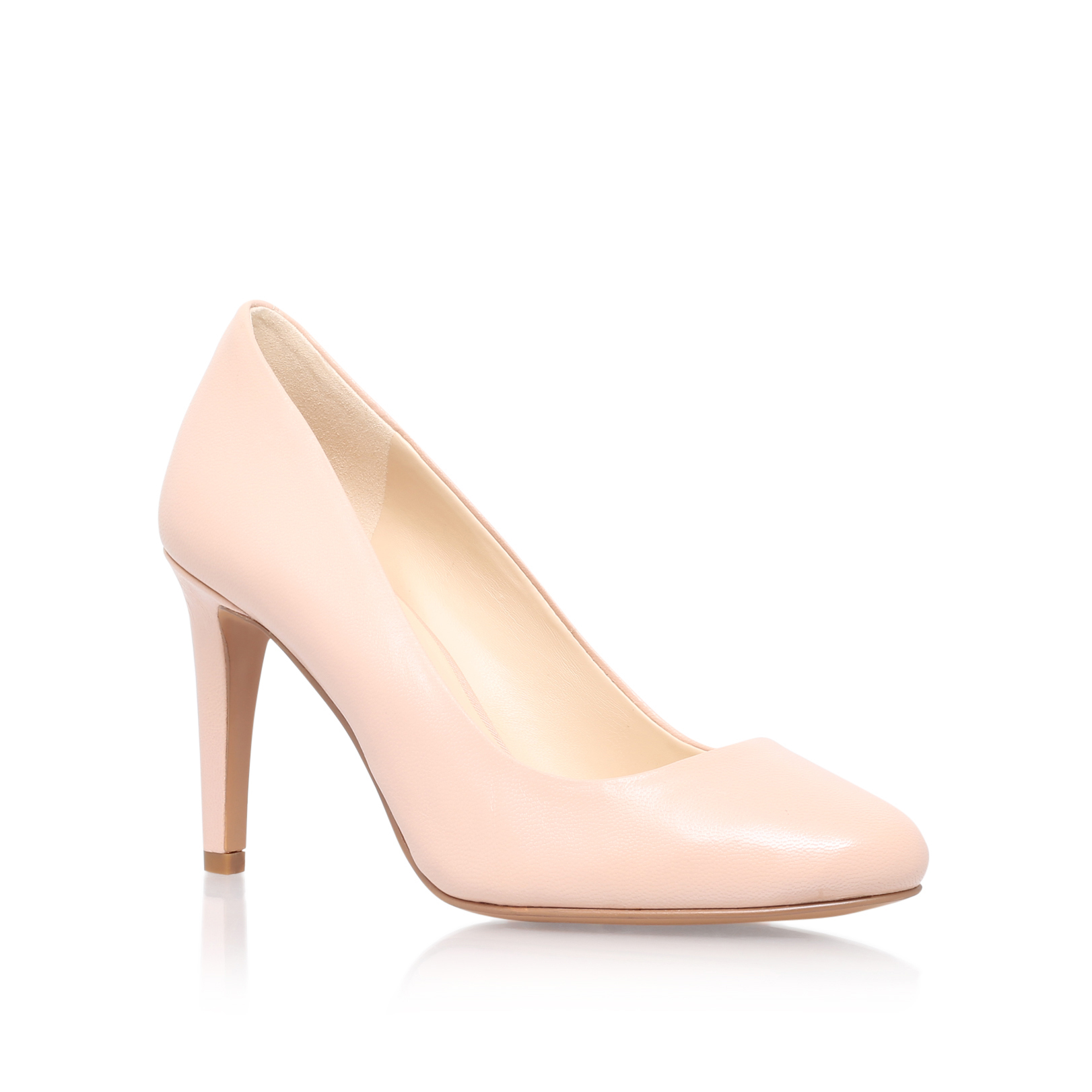 bb96969e5ae NOW25 6833424109. handjive nine west nude leather high heel court shoes by