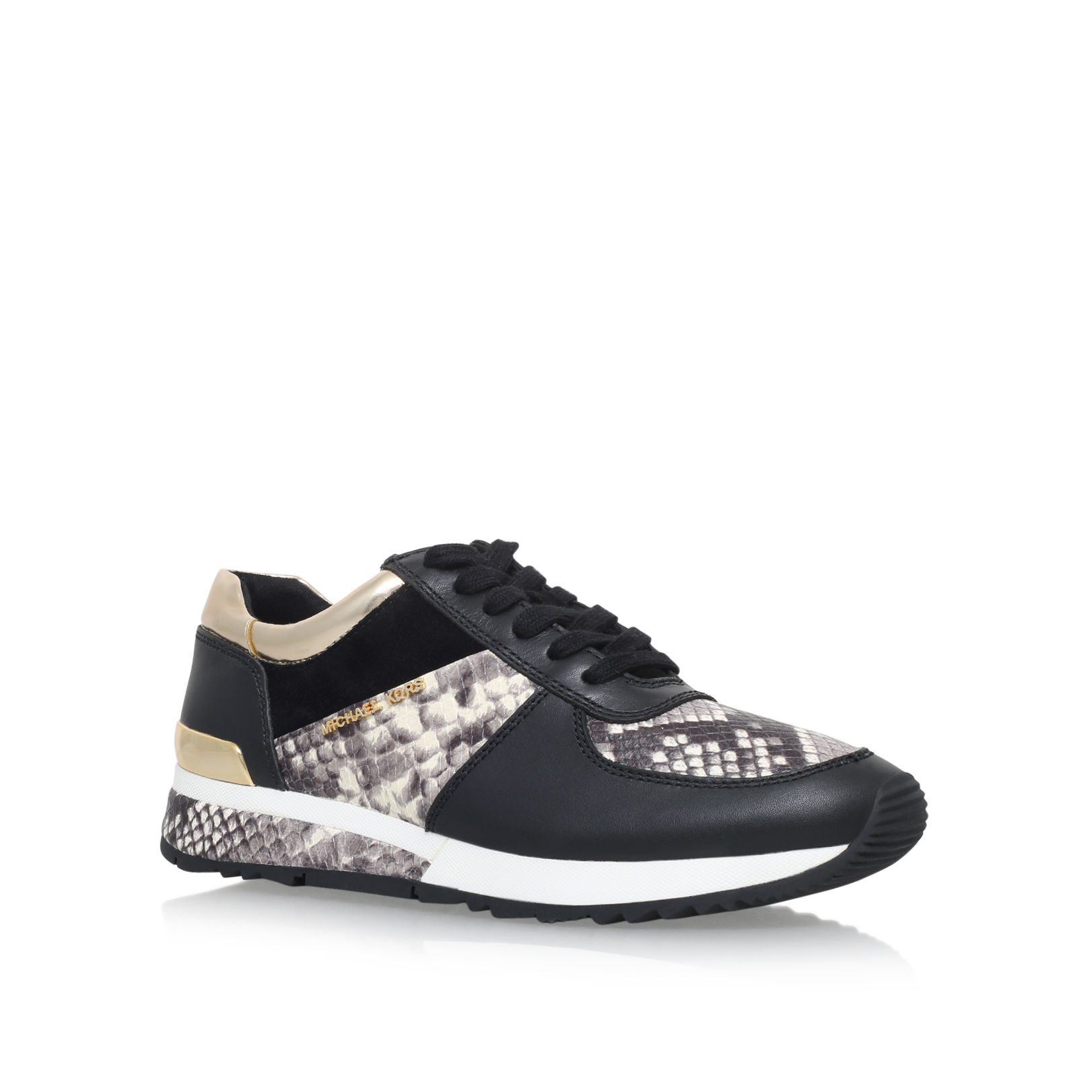 Allie Snake Print Trainer Sneakers