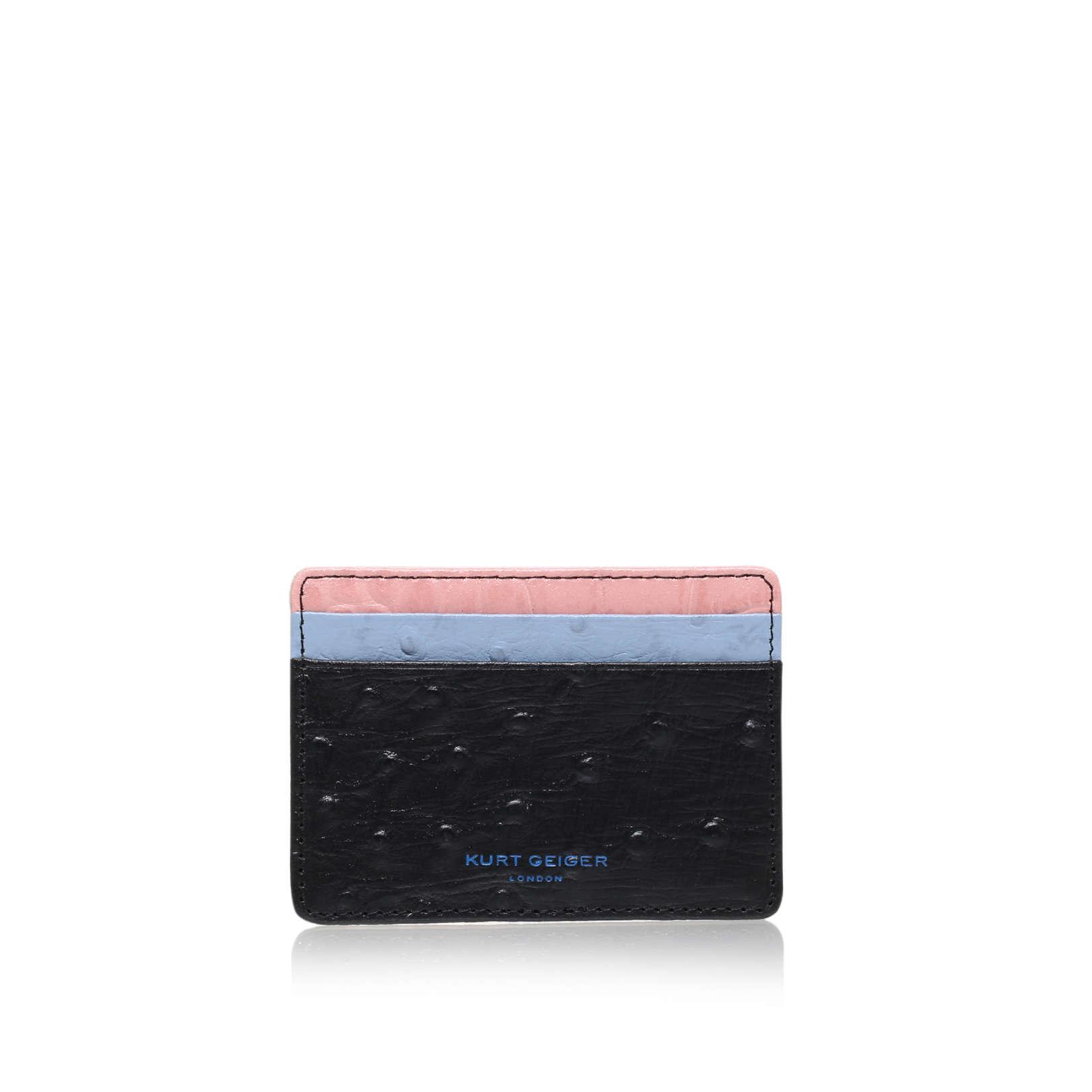 OSTRICH CARD HOLDER