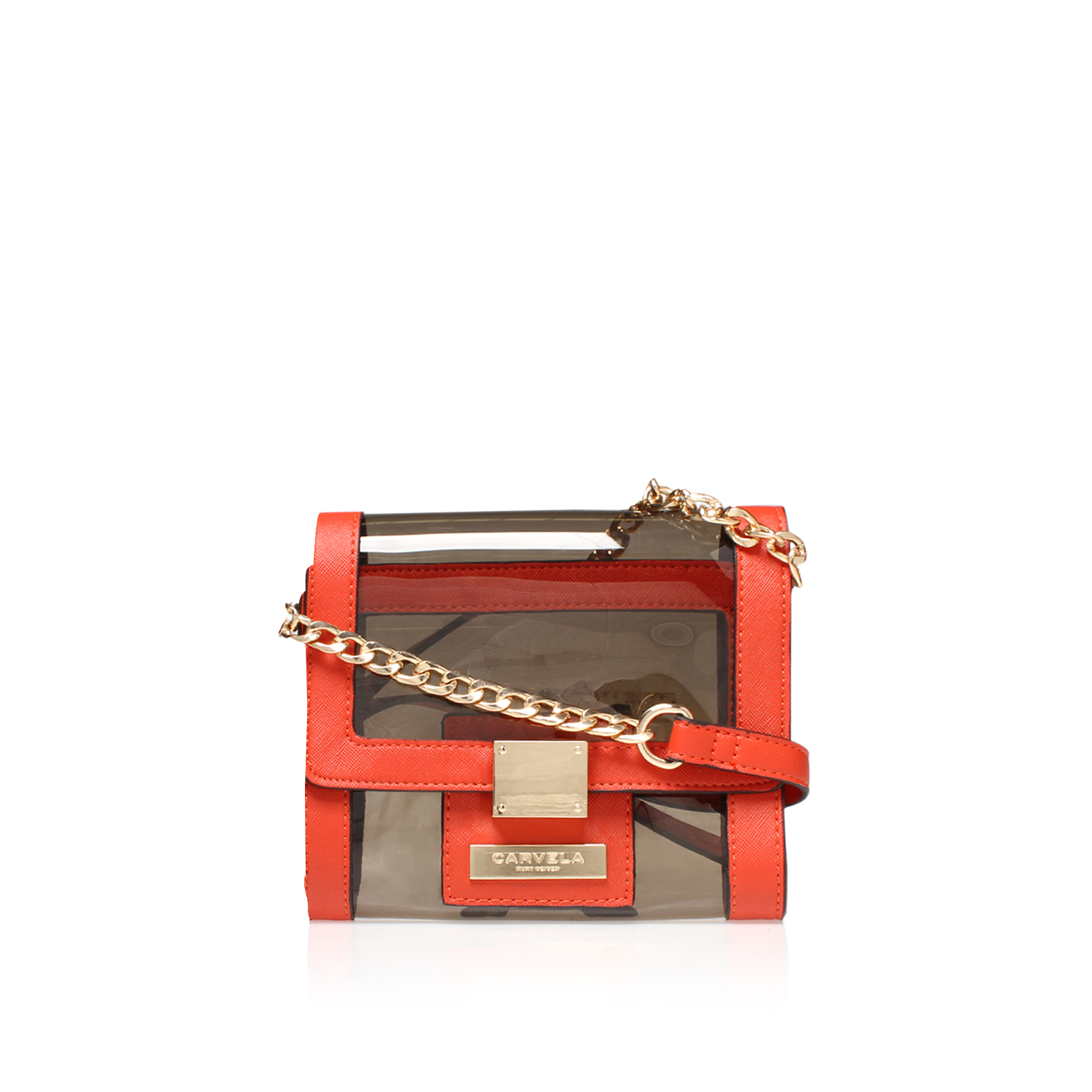 LIZ X BODY PERSPEX BAG
