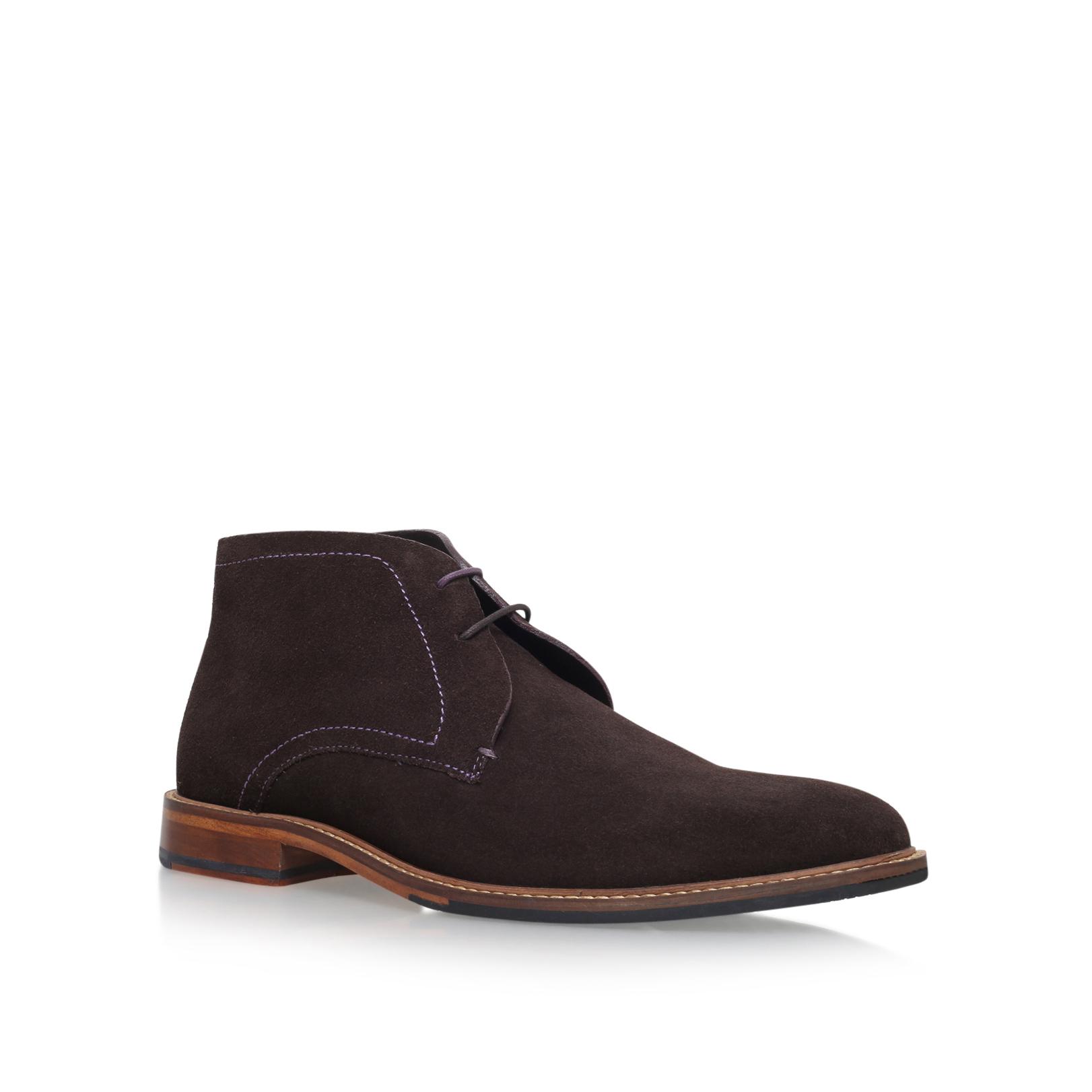 For Mens Ted Baker Mens Torsdi 3 Boots Dark Brown Shoes Dark Brown