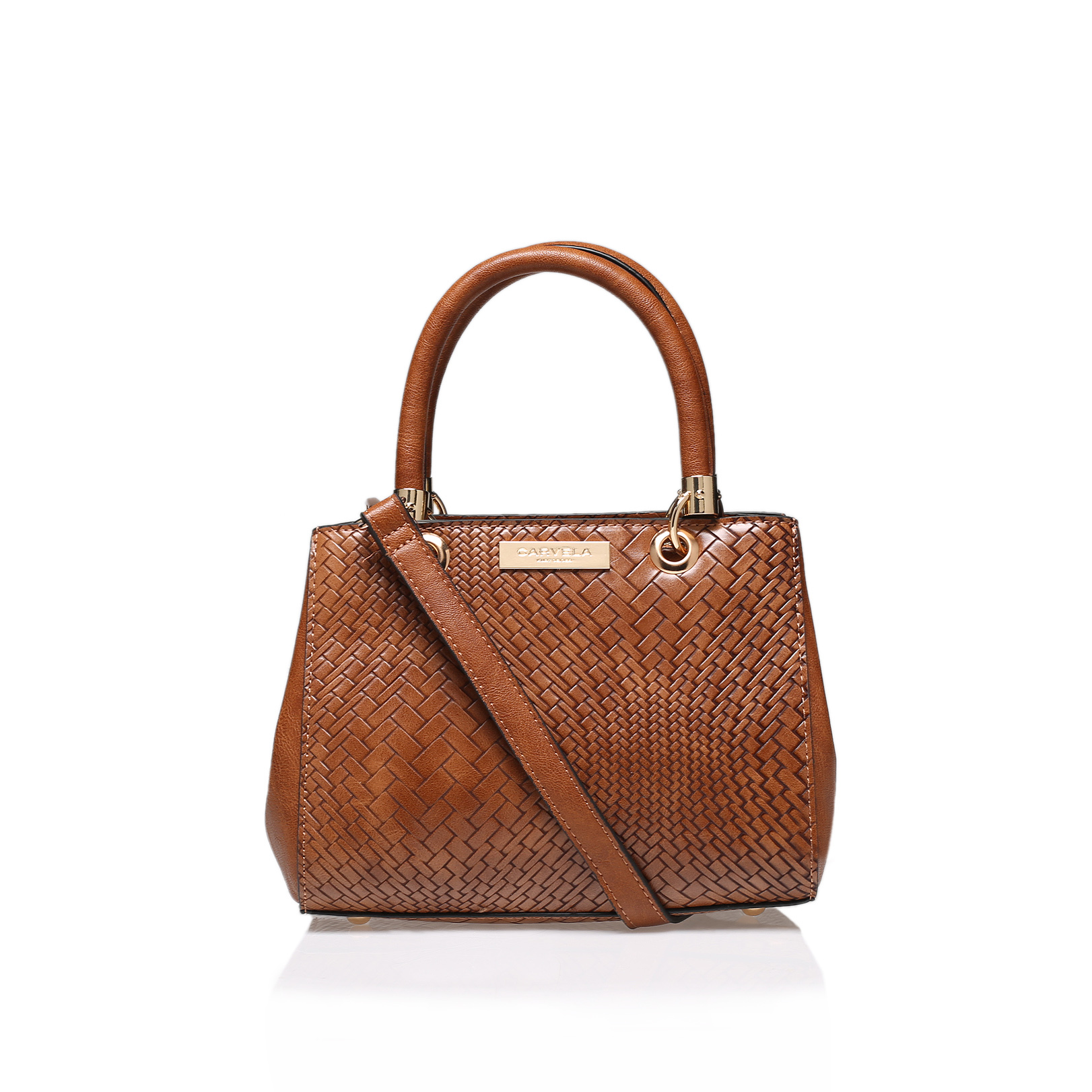 DEA WEAVED STRUCTURED BAG