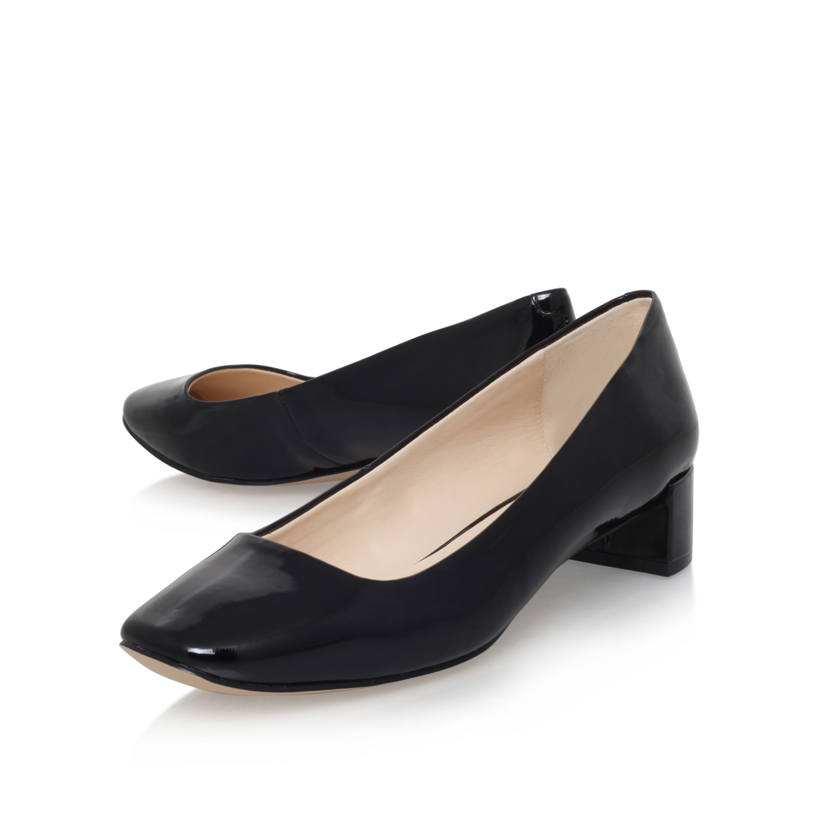 ab0fecda7e80 OLENCIA3 Nine West Olencia3 Black Patent Court by NINE WEST
