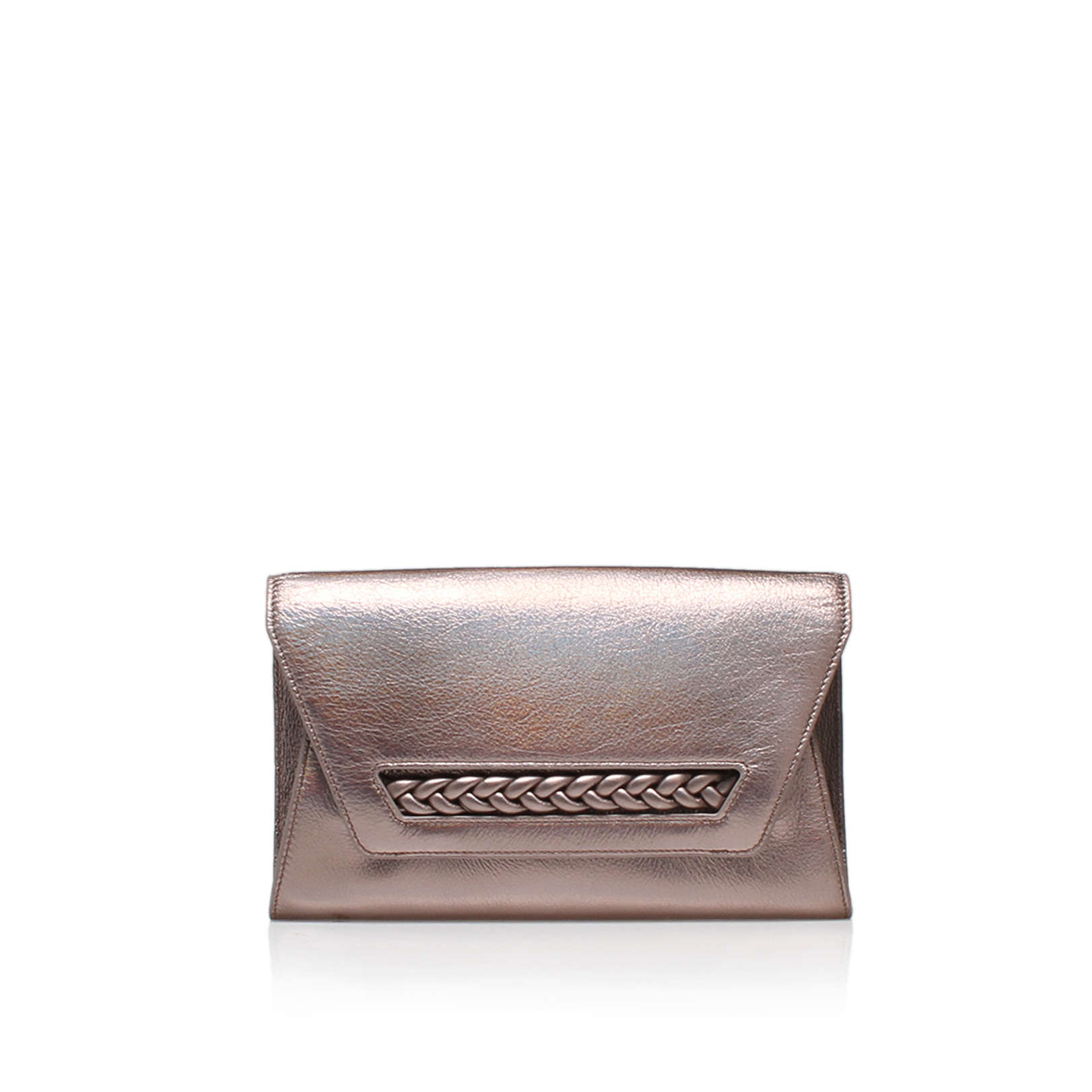 zinya clutch, lilac  by vince camuto -