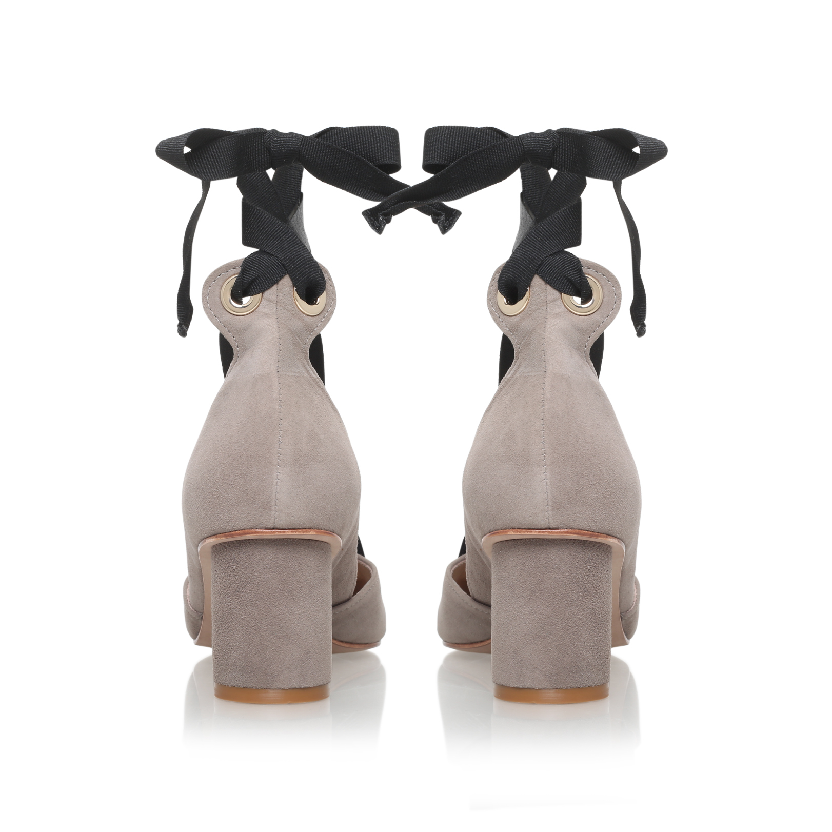 Kurt Geiger Mayfair In White Ladies Shoes