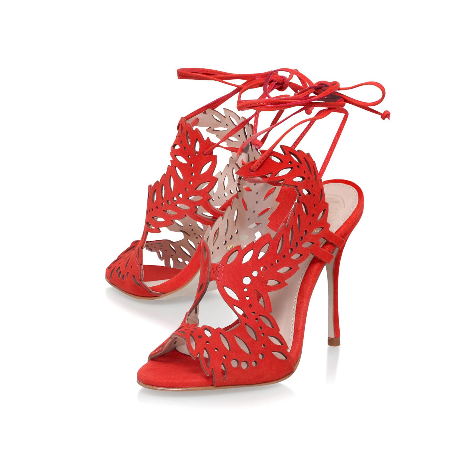 d4e1198bd95 HORATIO KG Kurt Geiger Horatio Red High Heel Sandals by KG KURT GEIGER