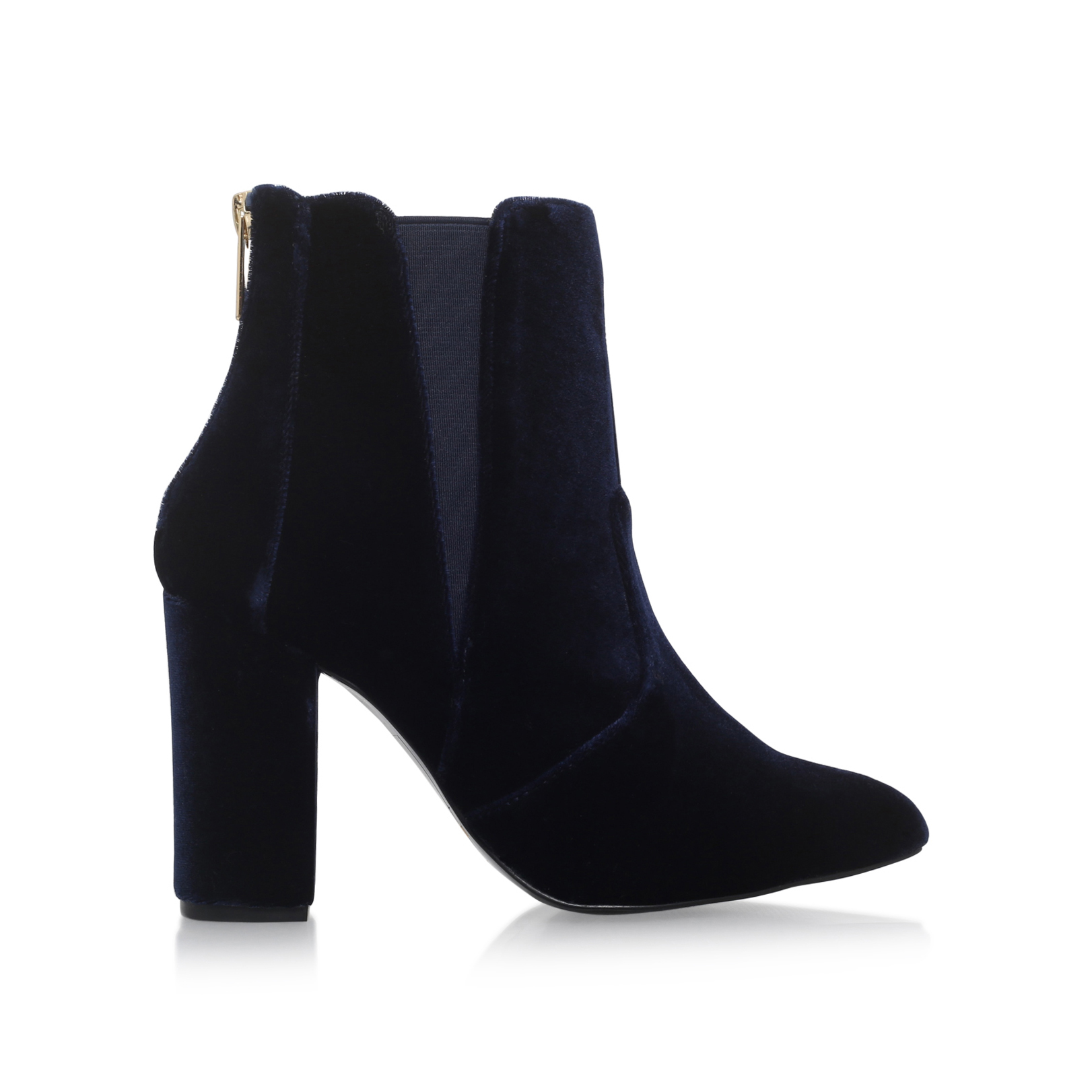 Carvela Blue Velvet Shoes