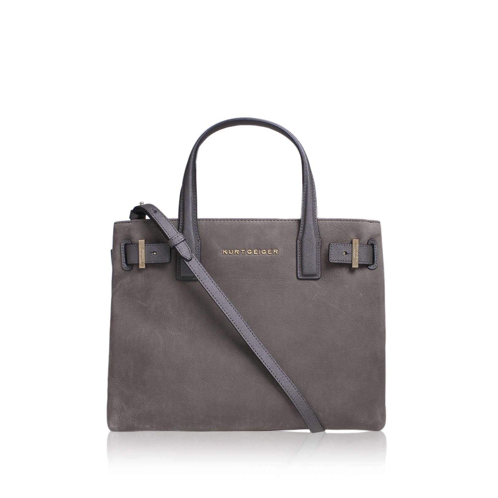 NUBUCK SOFT LONDON TOTE