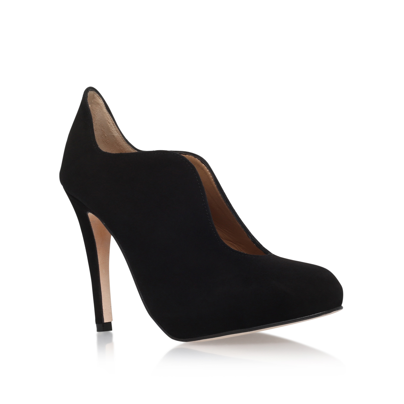 SUEDE CURVED COURT
