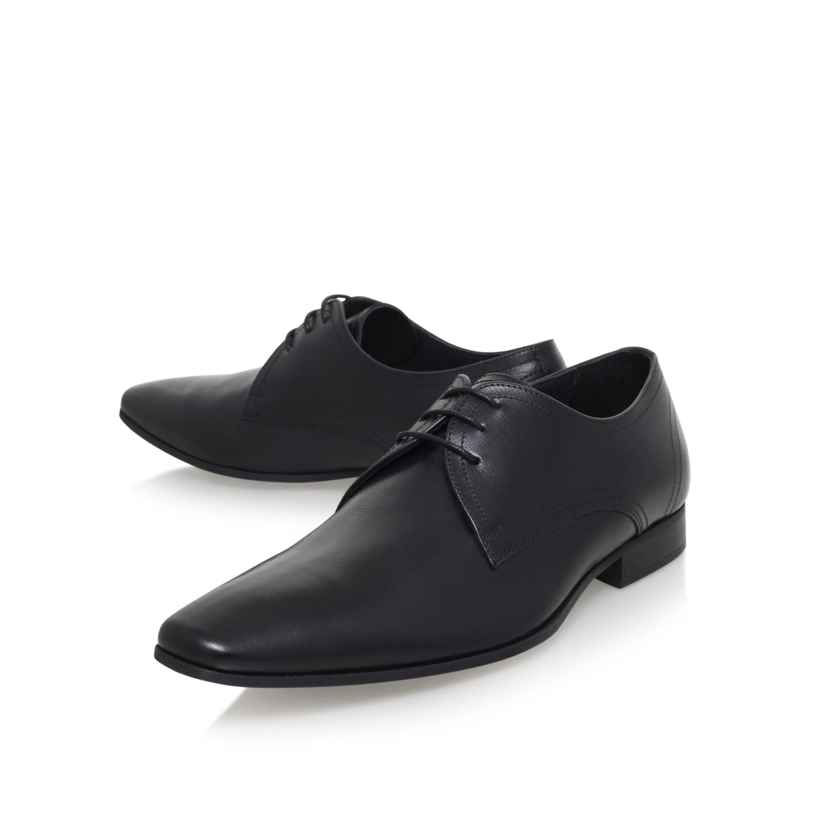 santon kg by kurt geiger santon black leather formal shoes