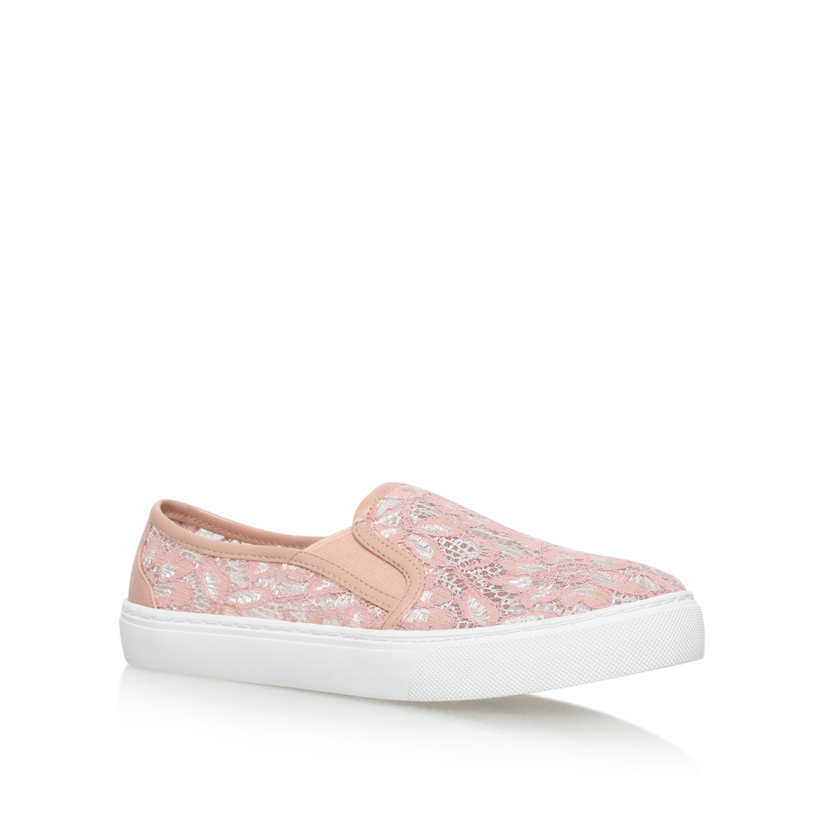 LACE SLIP ON TRAINER